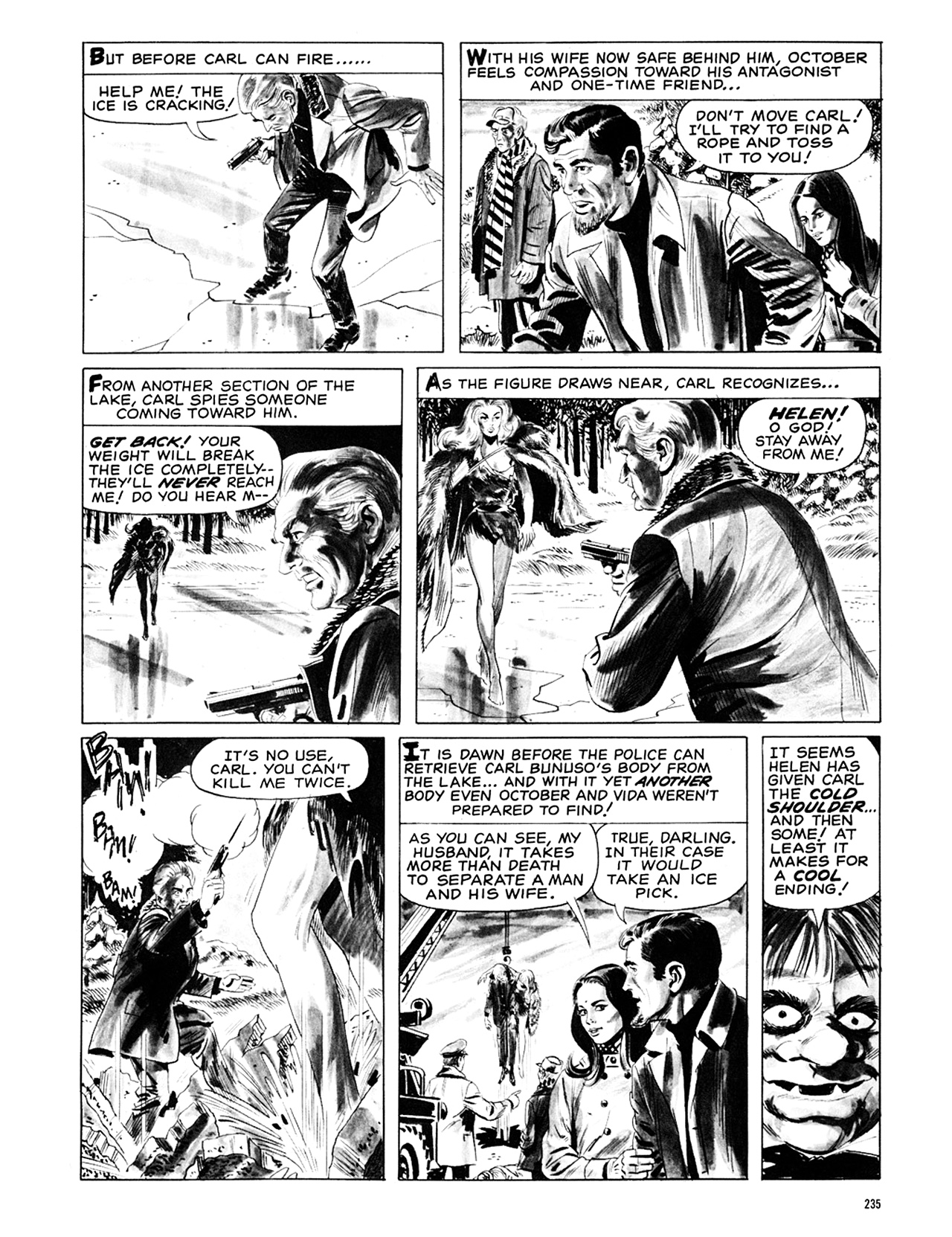 Read online Eerie Archives comic -  Issue # TPB 6 - 234