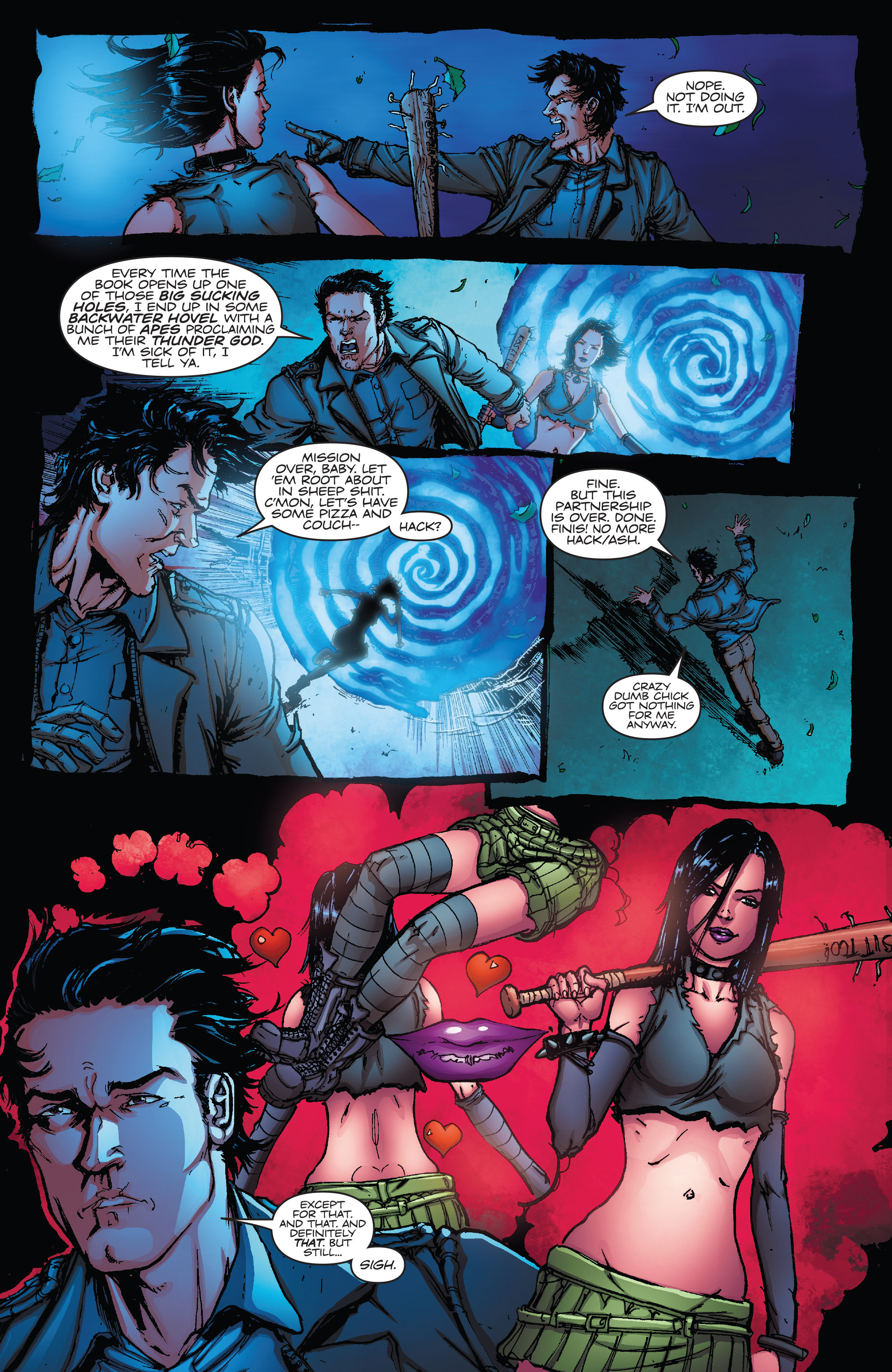 Read online Army of Darkness vs. Hack/Slash comic -  Issue #5 - 12