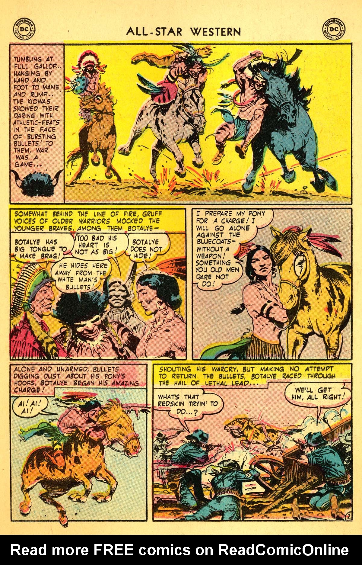 Read online All-Star Western (1951) comic -  Issue #99 - 18