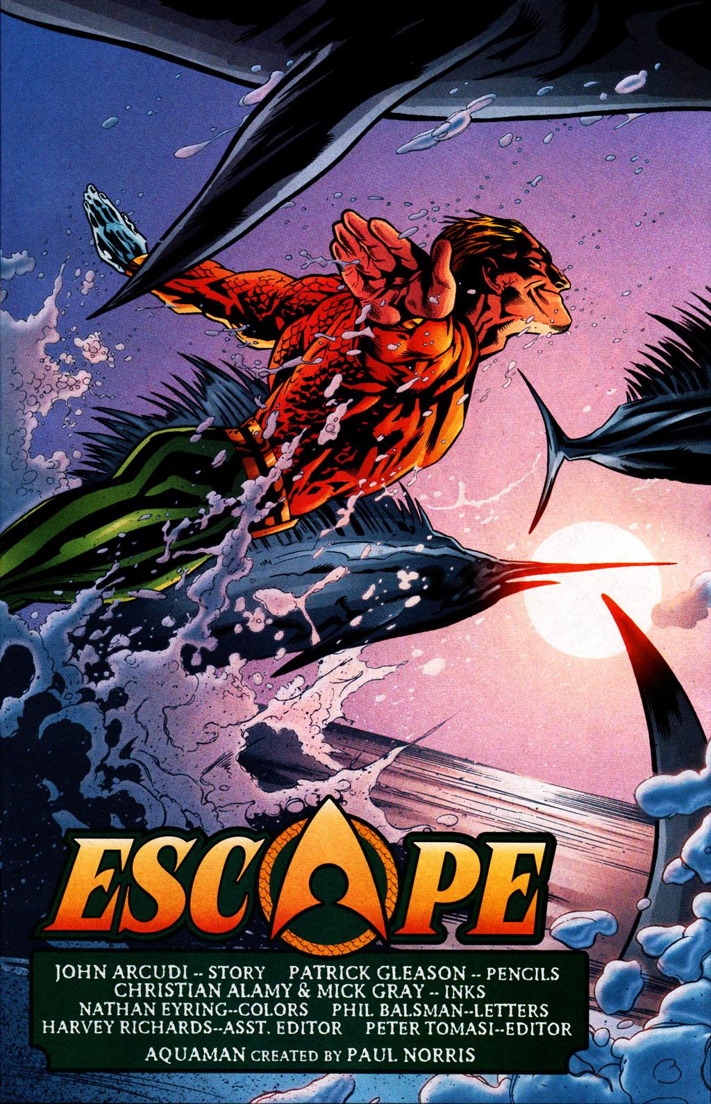 Read online Aquaman (2003) comic -  Issue #25 - 4