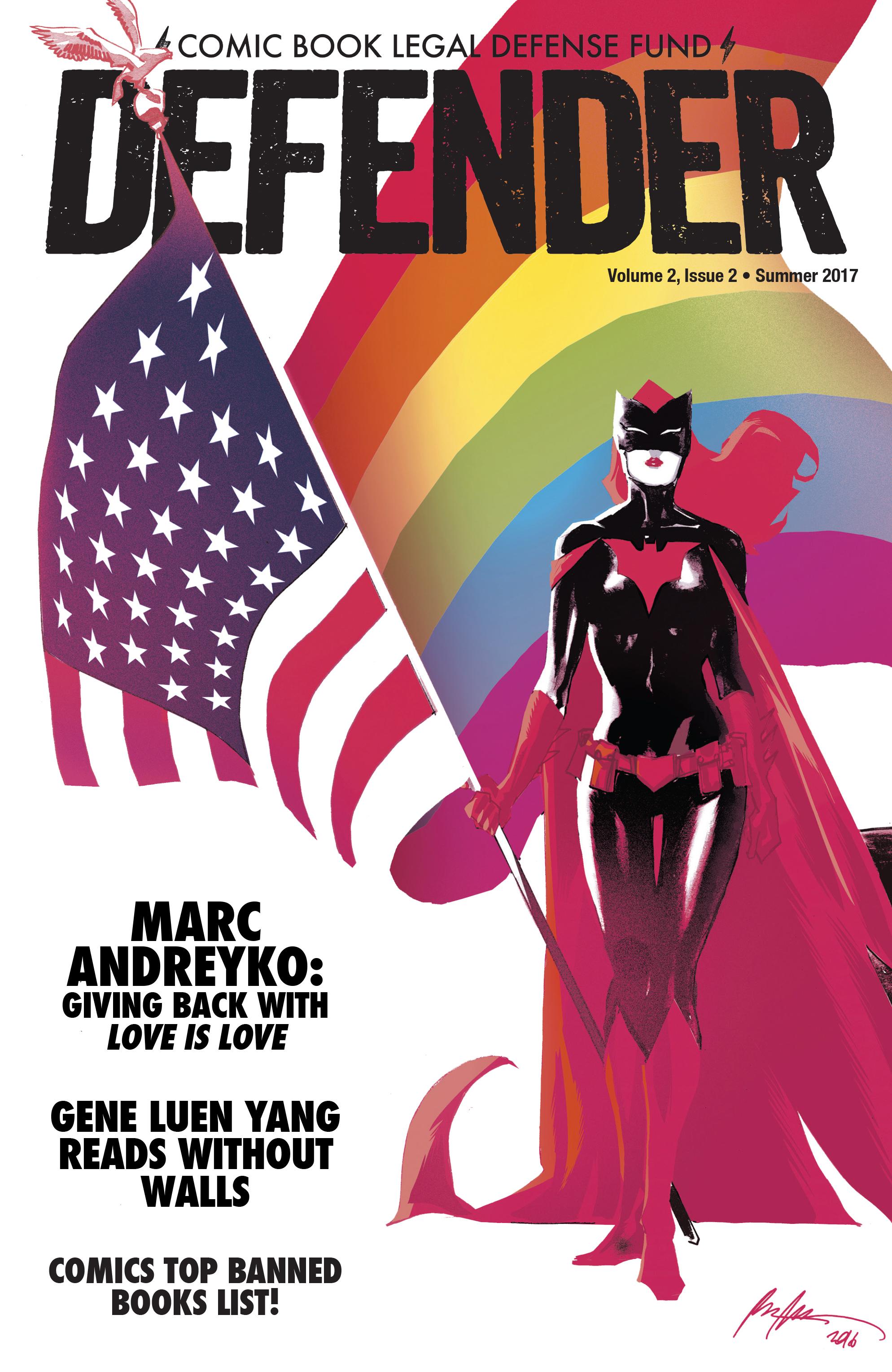 Read online CBLDF Defender Vol. 2 comic -  Issue #2 - 1