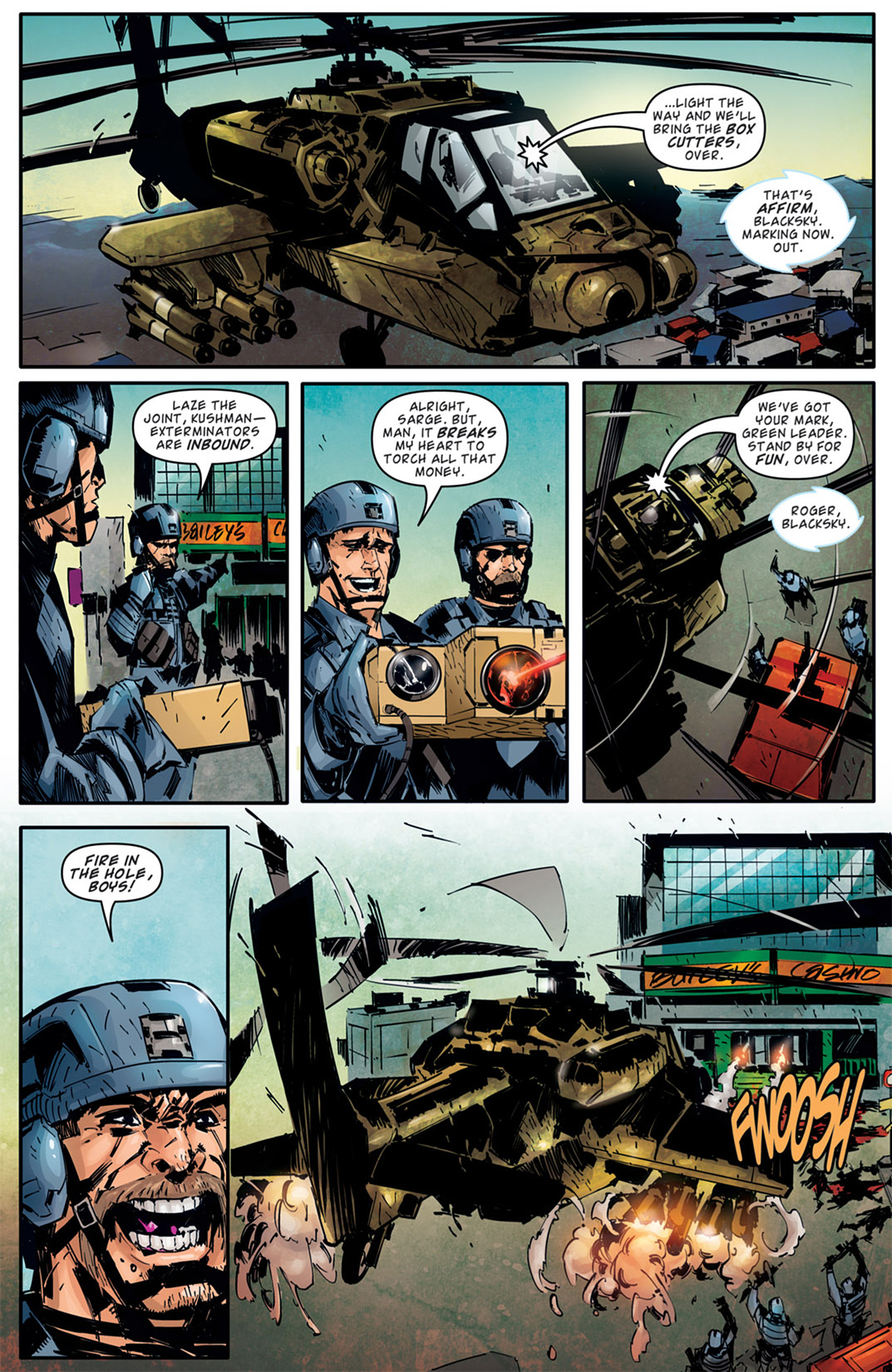 Read online Dead Rising: Road to Fortune comic -  Issue # TPB - 35