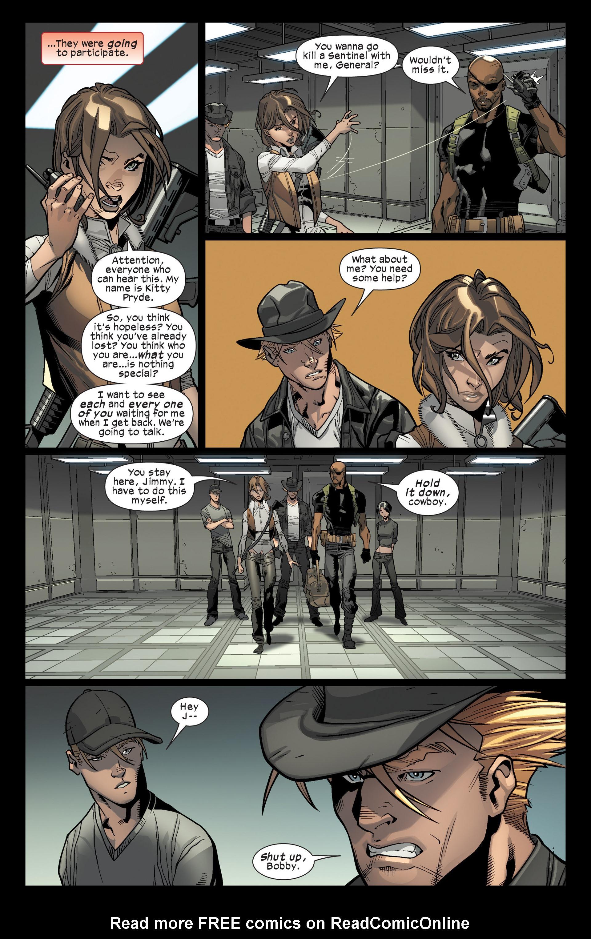 Read online Ultimate Comics X-Men comic -  Issue #16 - 15