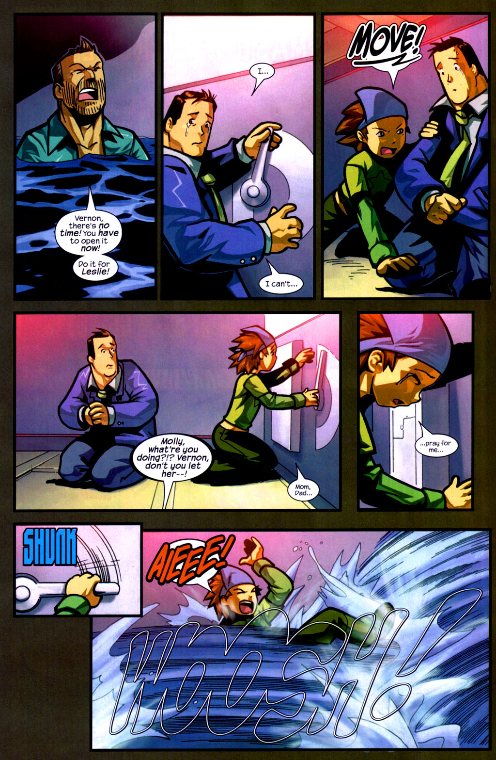Read online Sentinel comic -  Issue #9 - 10