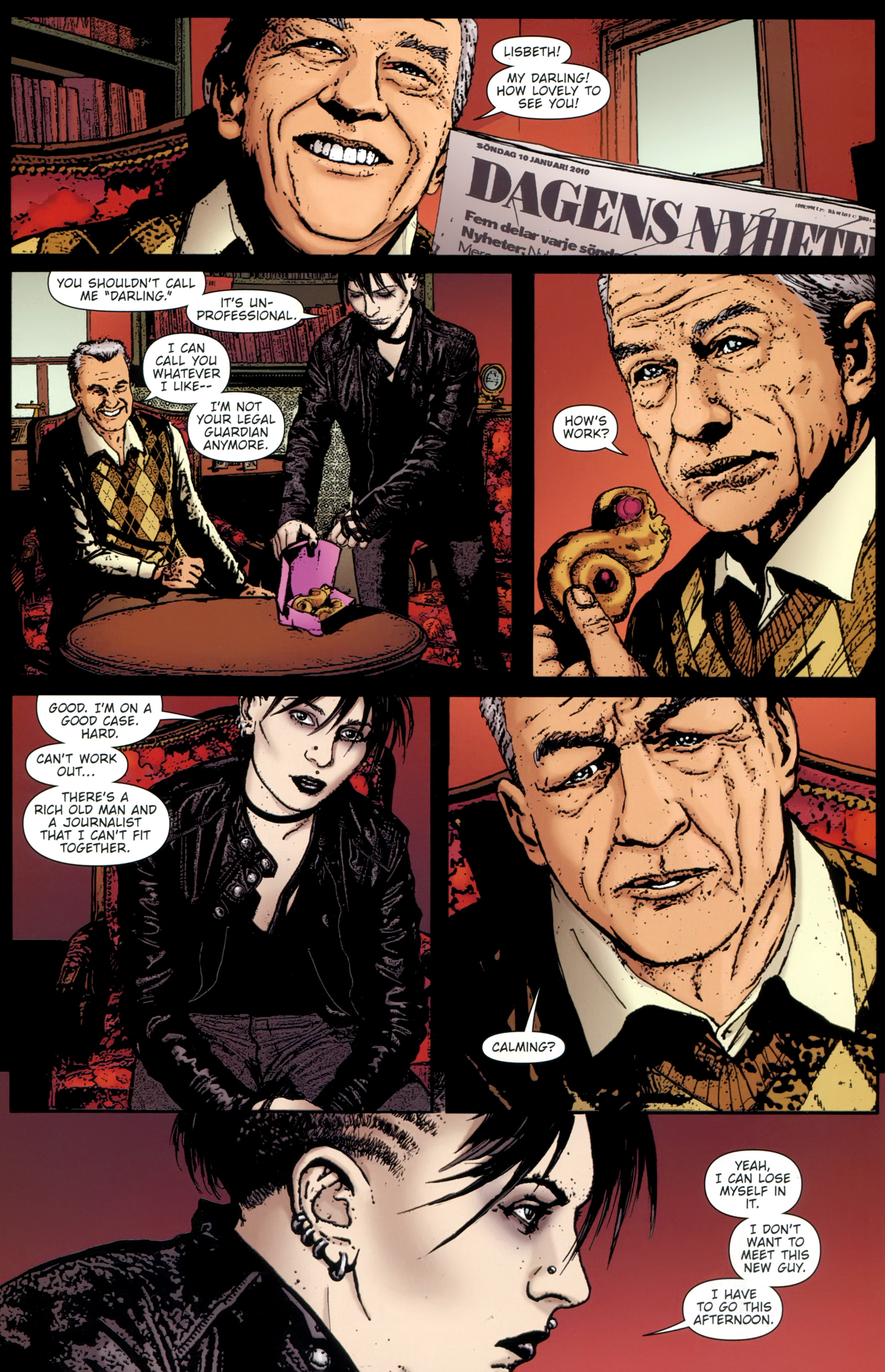 Read online The Girl With the Dragon Tattoo comic -  Issue # TPB 1 - 83