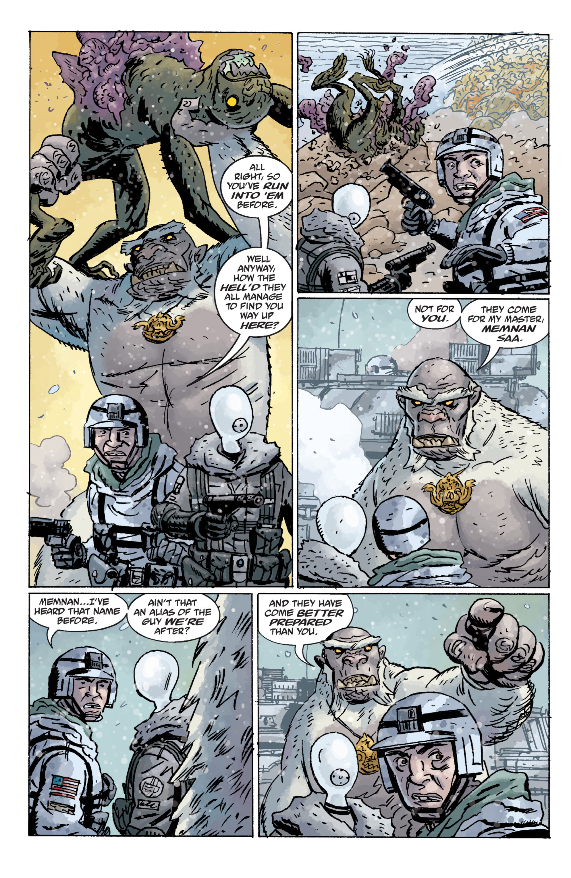 Read online B.P.R.D. (2003) comic -  Issue # TPB 11 - 67
