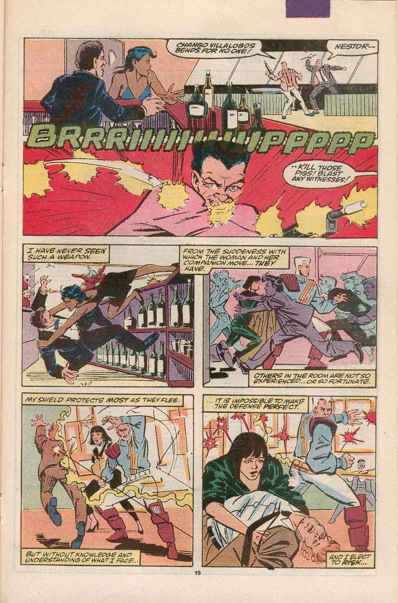 Read online Justice (1986) comic -  Issue #1 - 20