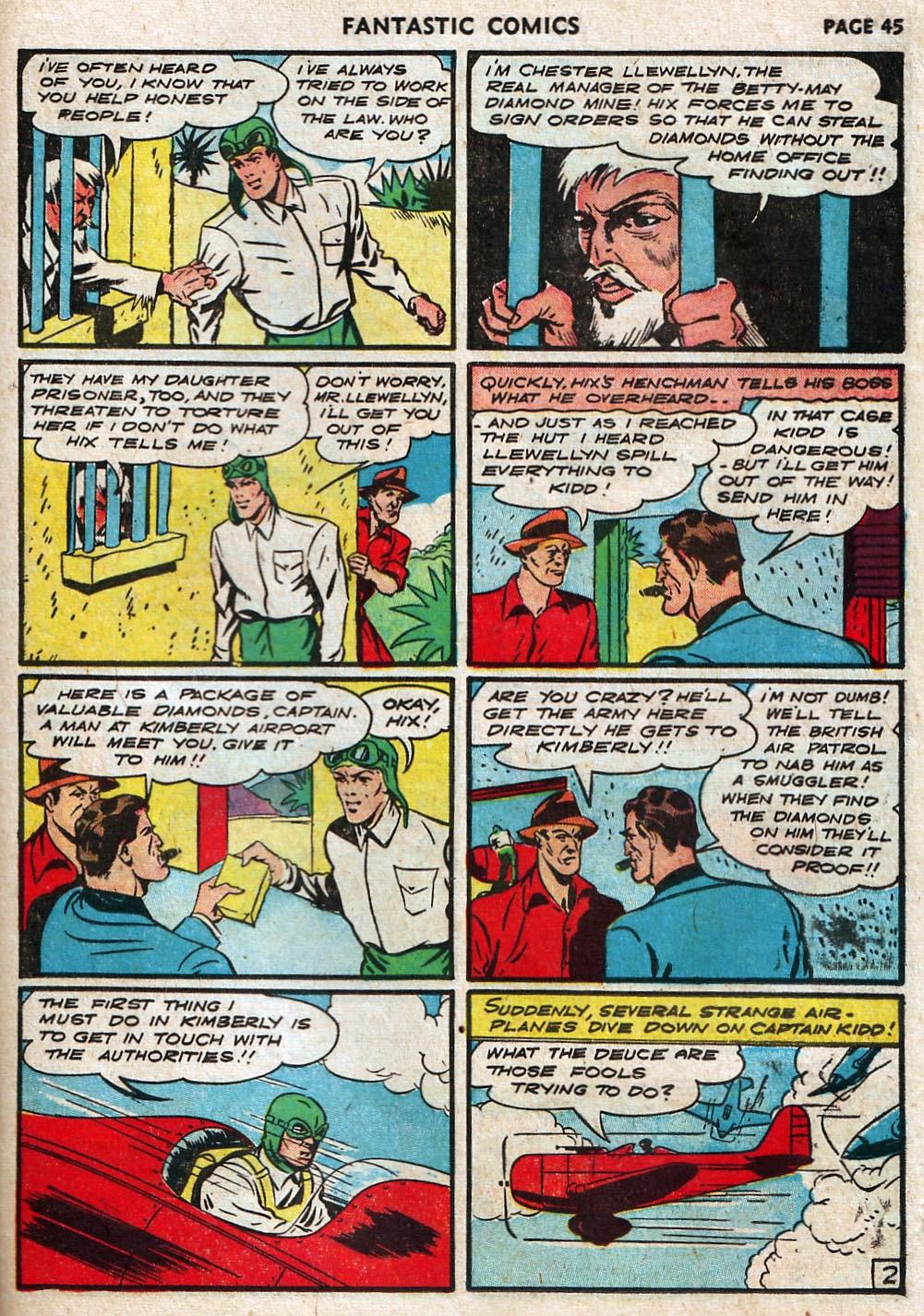 Read online Fantastic Comics comic -  Issue #17 - 46