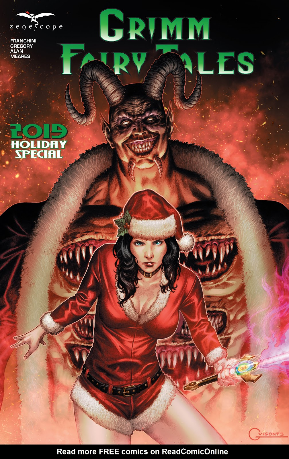 Grimm Fairy Tales 2019 Holiday Special issue Full - Page 1