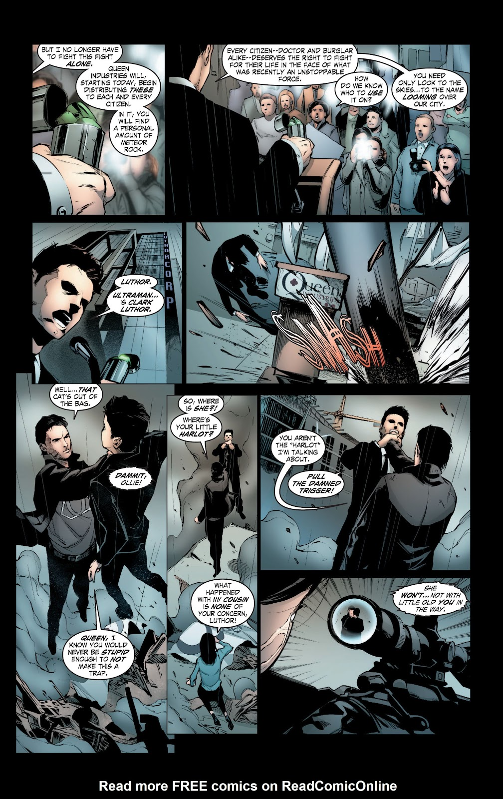 Read online Smallville Season 11 [II] comic -  Issue # TPB 3 - 104