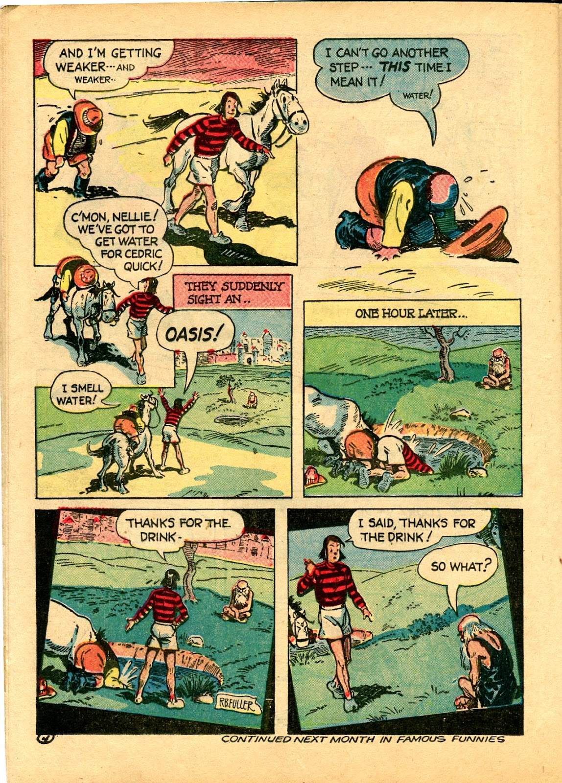 Read online Famous Funnies comic -  Issue #102 - 46