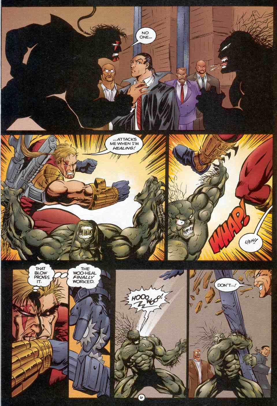 Read online Ultraverse Premiere comic -  Issue #3 - 20