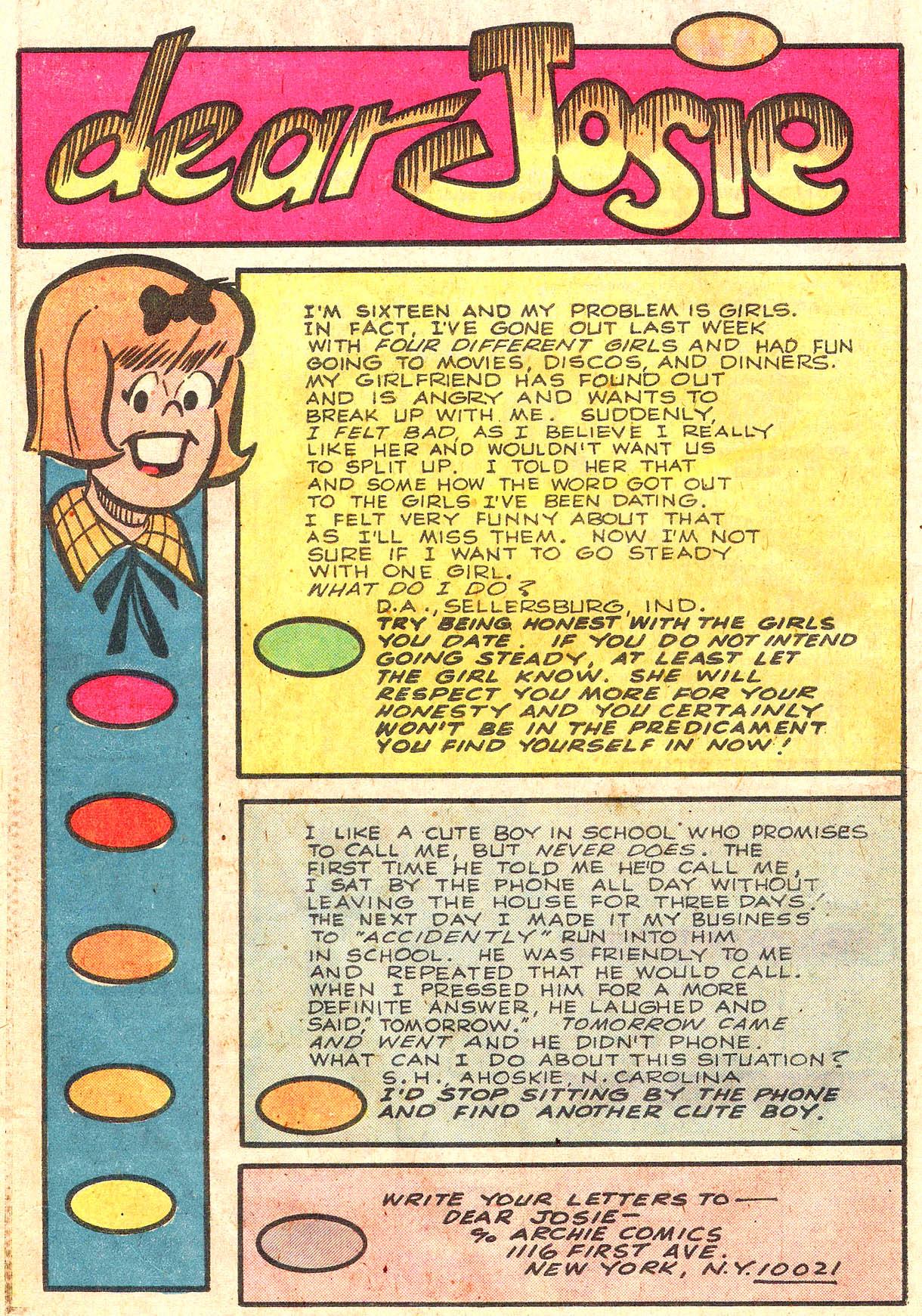 Read online She's Josie comic -  Issue #100 - 26
