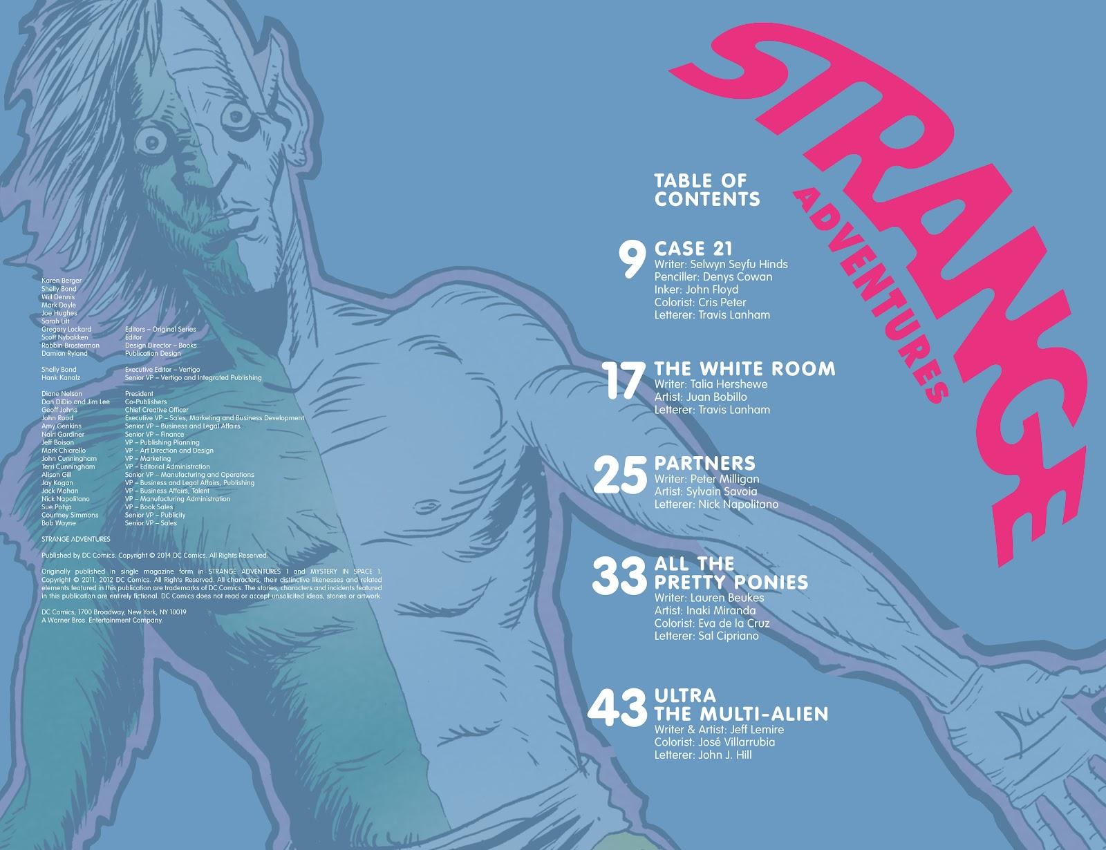 Read online Strange Adventures (2014) comic -  Issue # TPB (Part 1) - 4