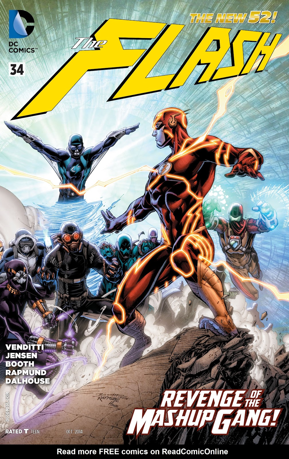 Read online The Flash (2011) comic -  Issue # _TPB 6 (Part 2) - 84