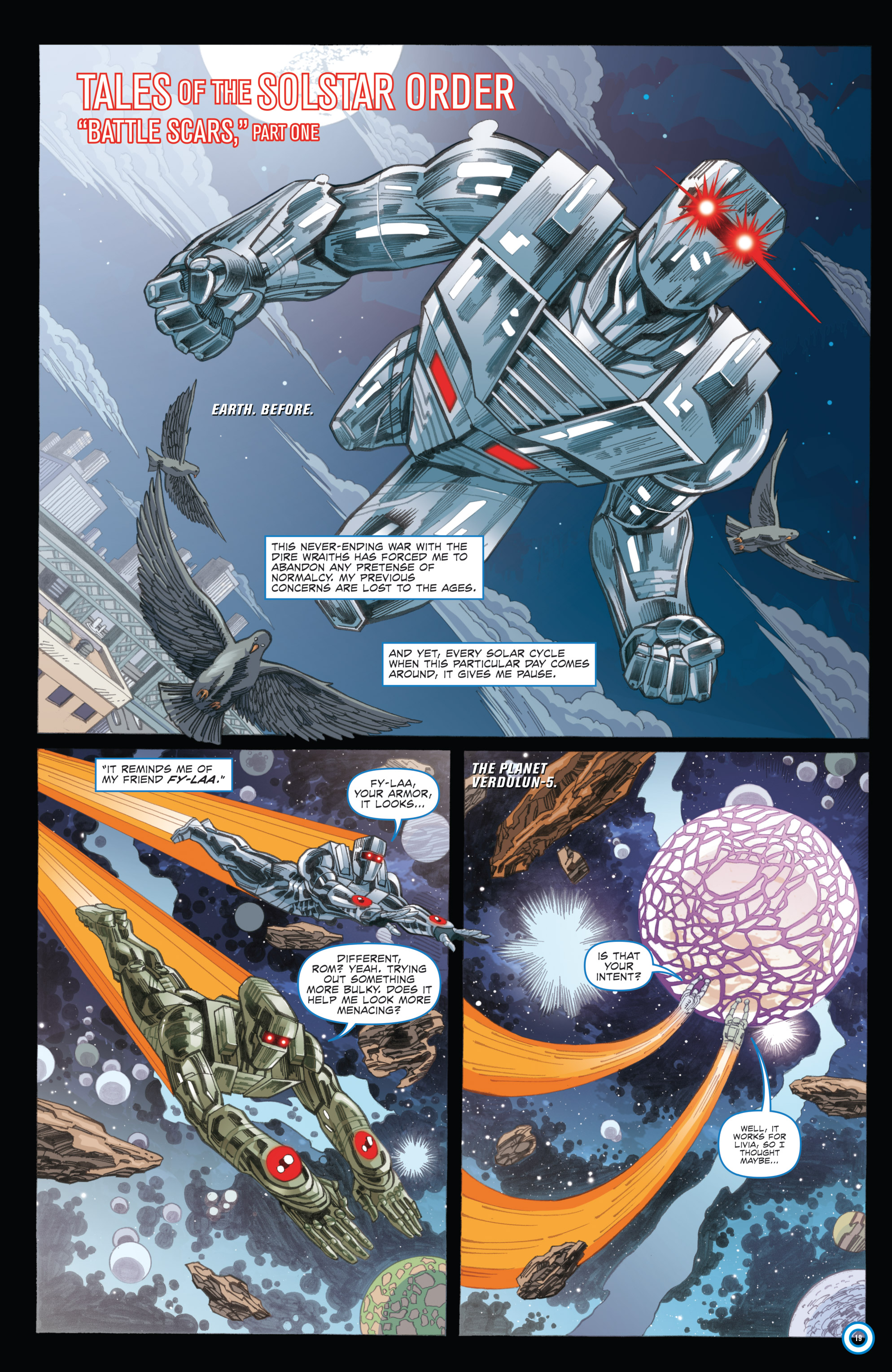 Read online ROM (2016) comic -  Issue #11 - 21