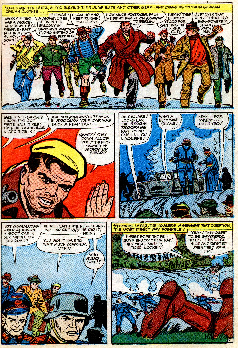 Read online Sgt. Fury comic -  Issue #9 - 11