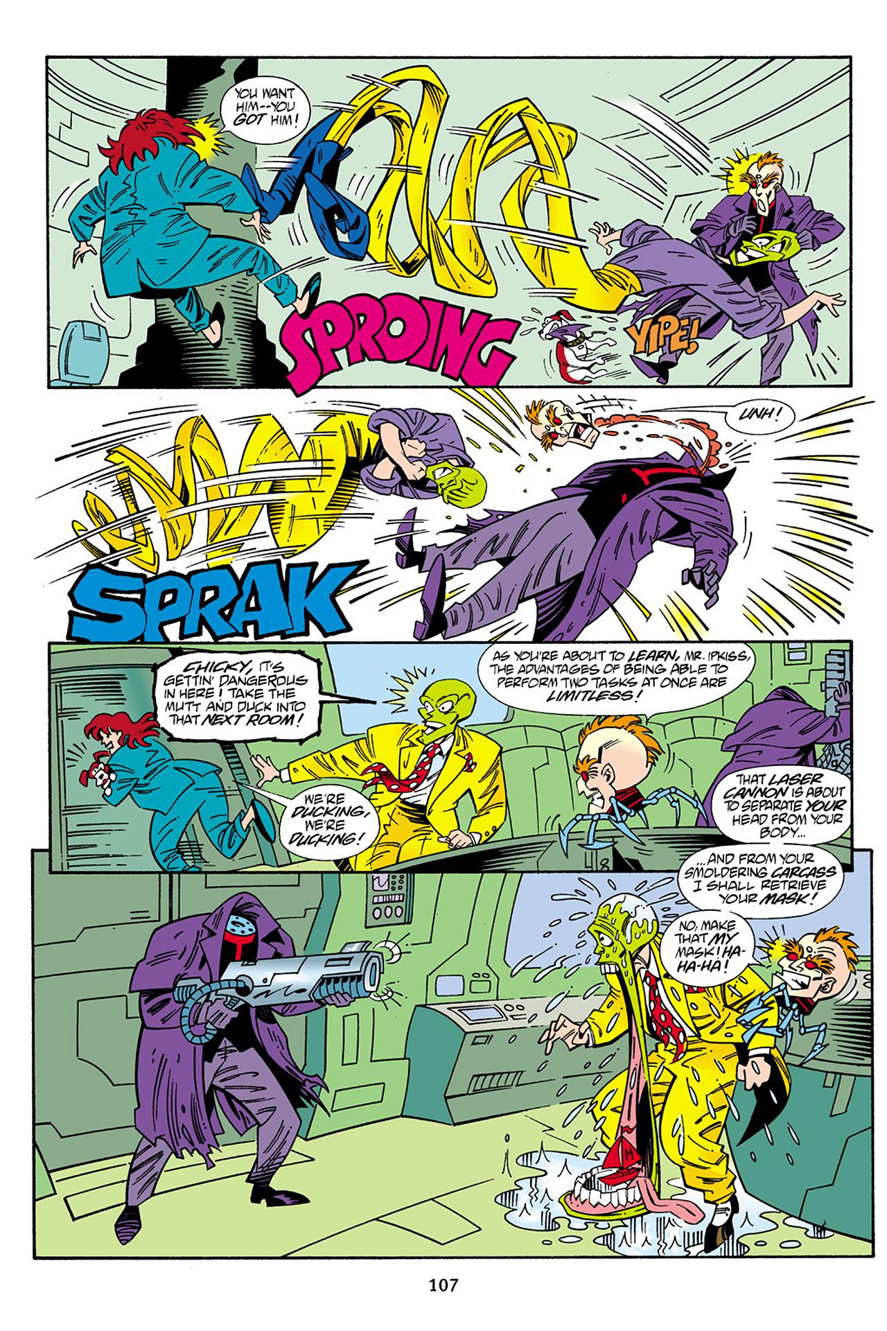 Read online Adventures Of The Mask Omnibus comic -  Issue #Adventures Of The Mask Omnibus Full - 107