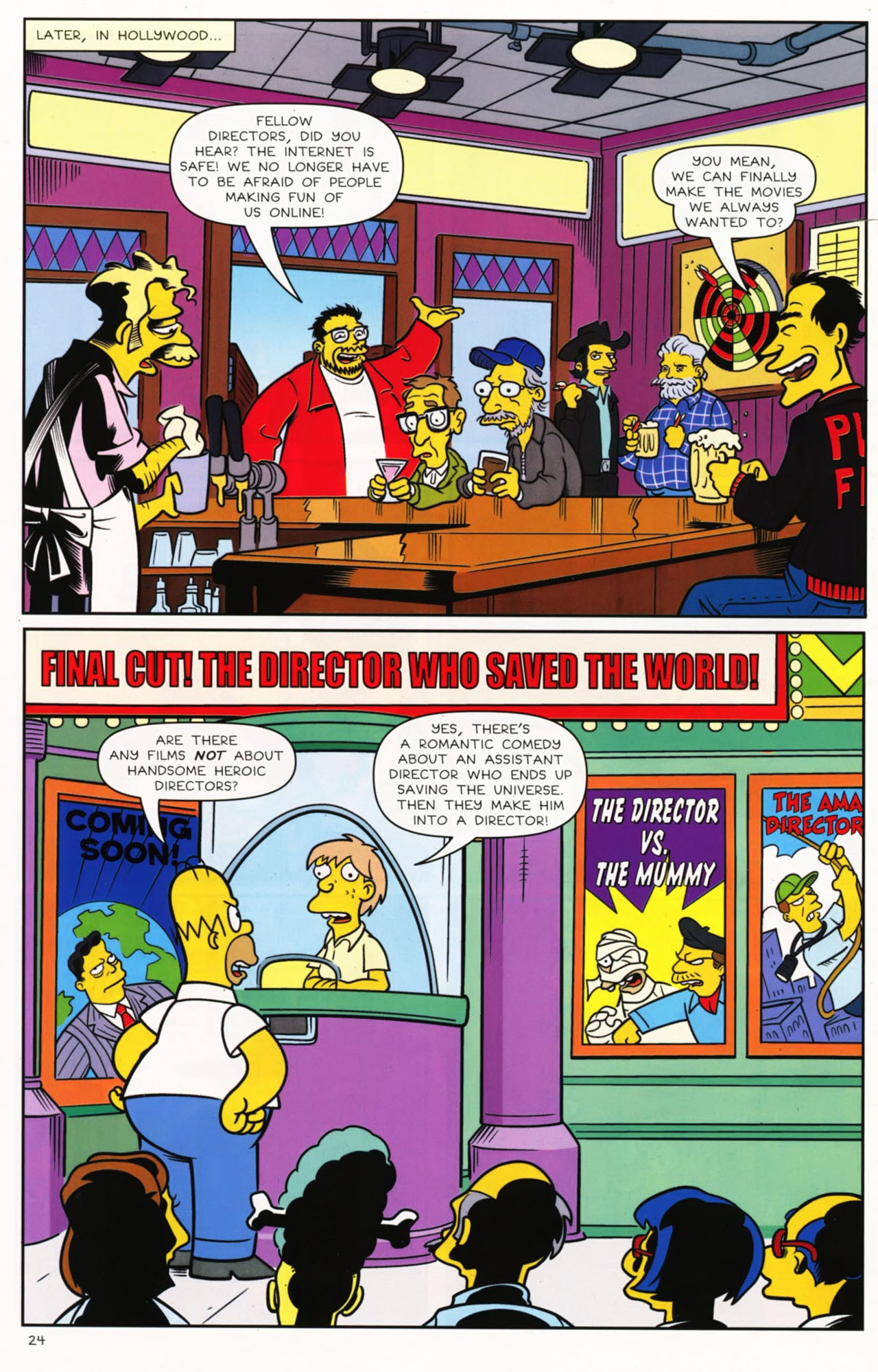 Read online Bongo Comics presents Comic Book Guy: The Comic Book comic -  Issue #2 - 25