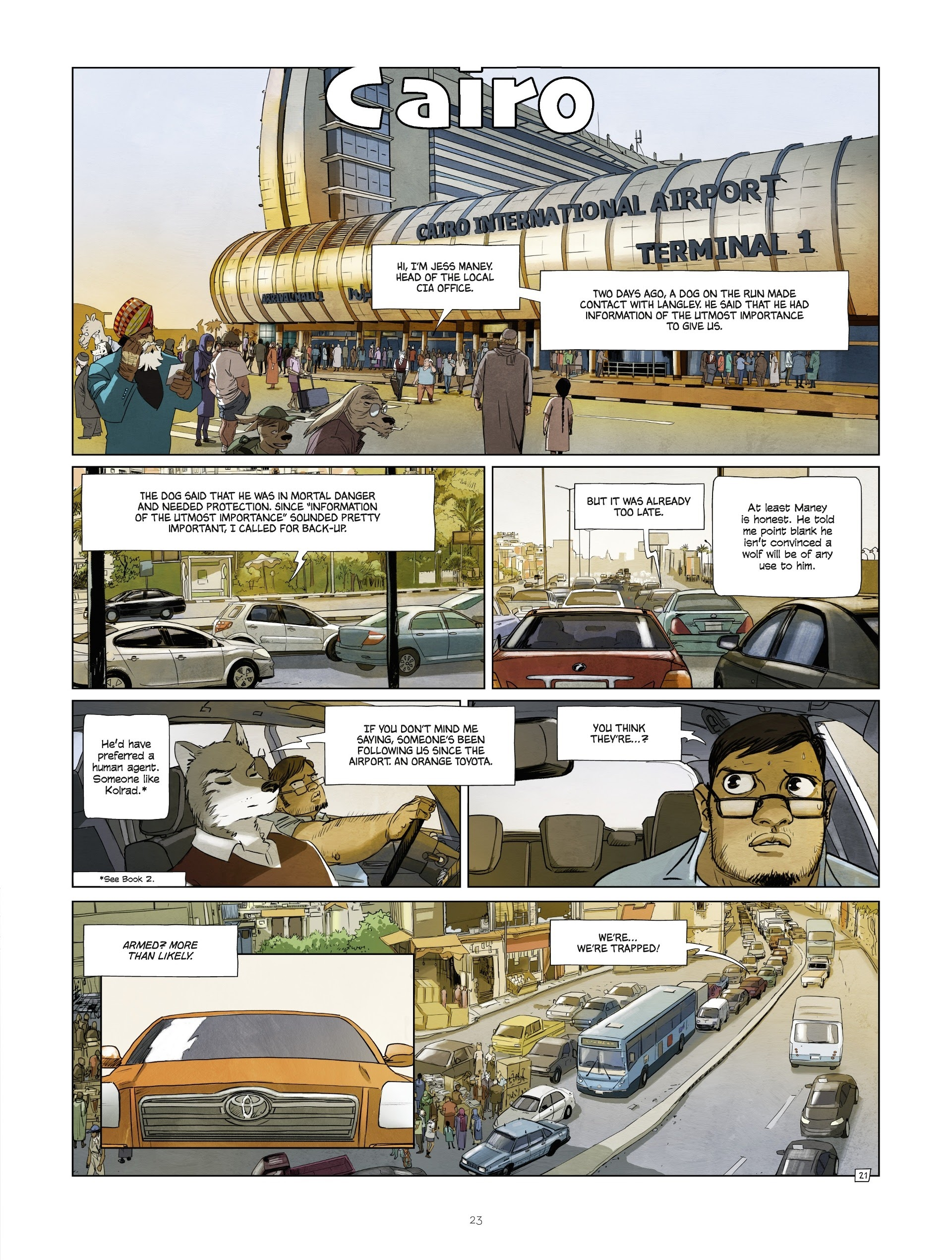 Read online Jack Wolfgang comic -  Issue #3 - 25