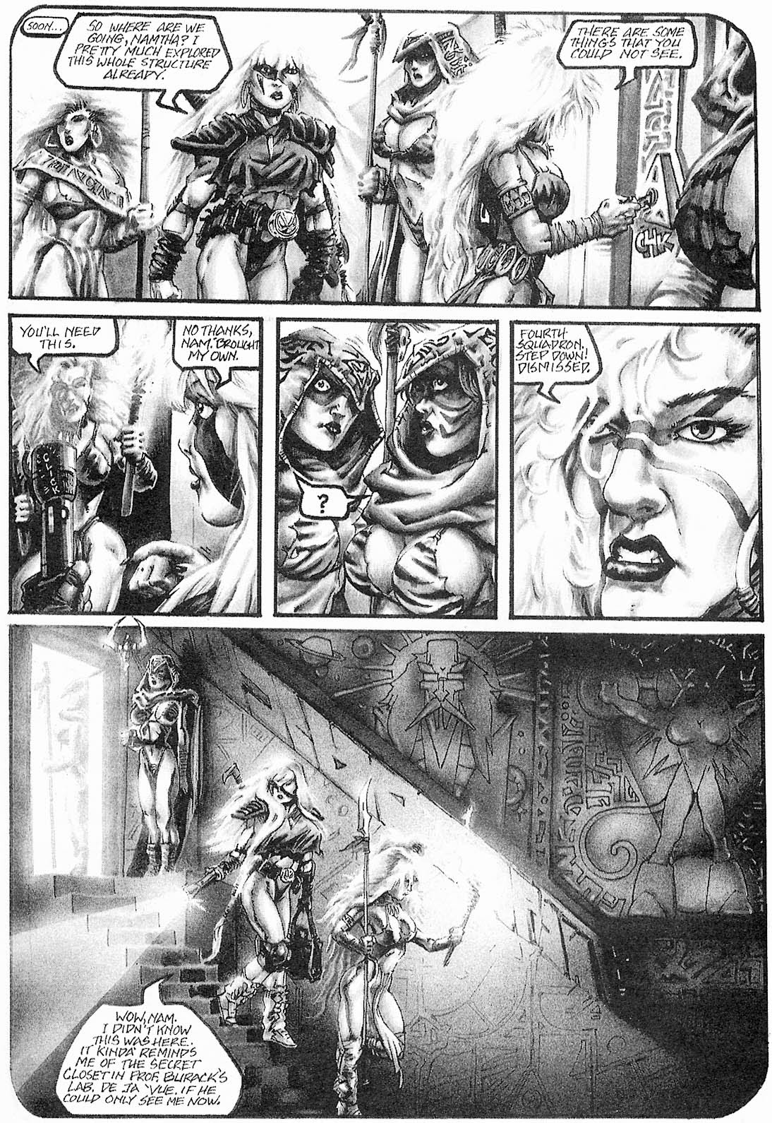 Read online Animal Mystic comic -  Issue #2 - 5