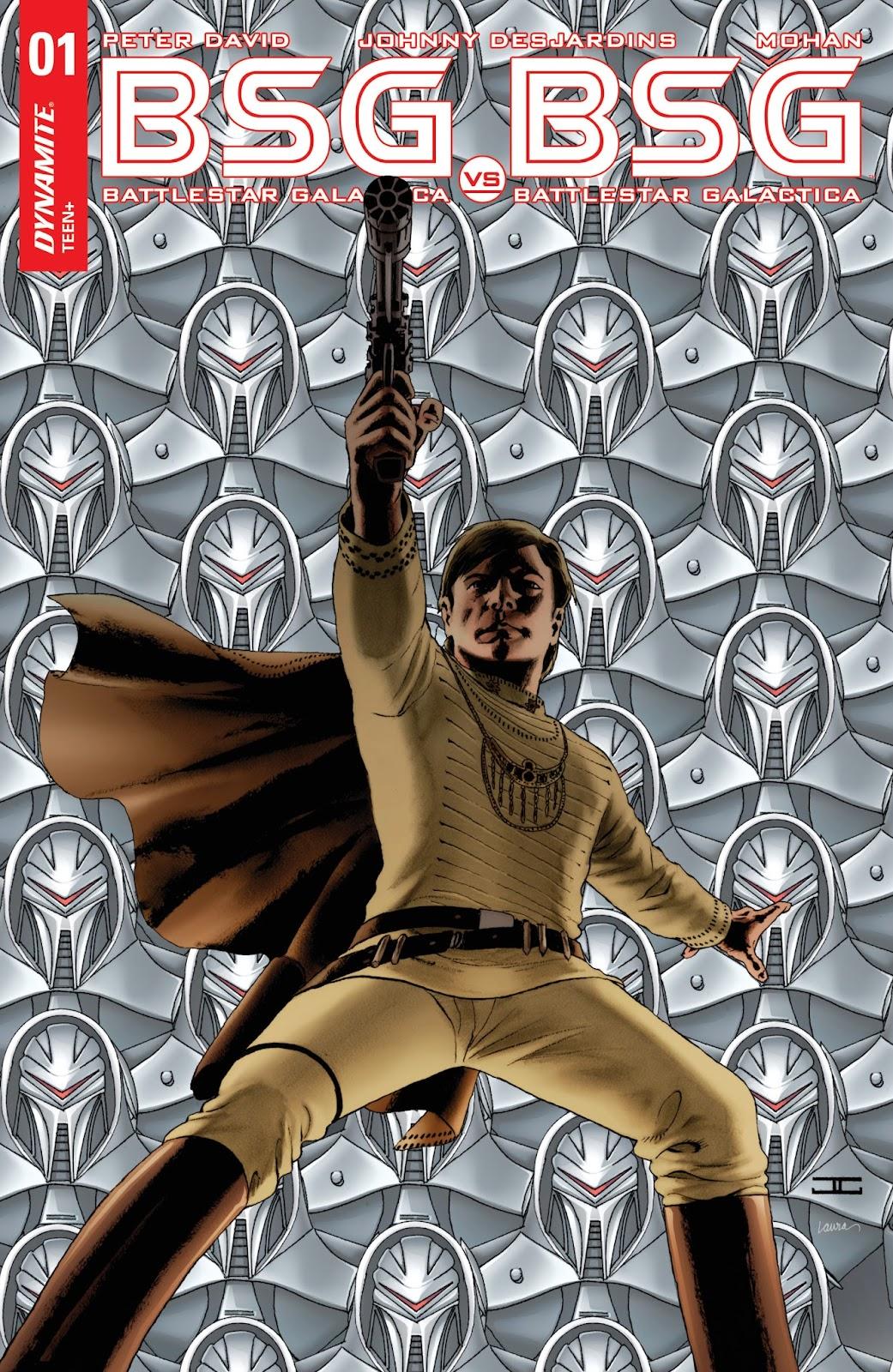 Battlestar Galactica BSG vs. BSG issue 1 - Page 1