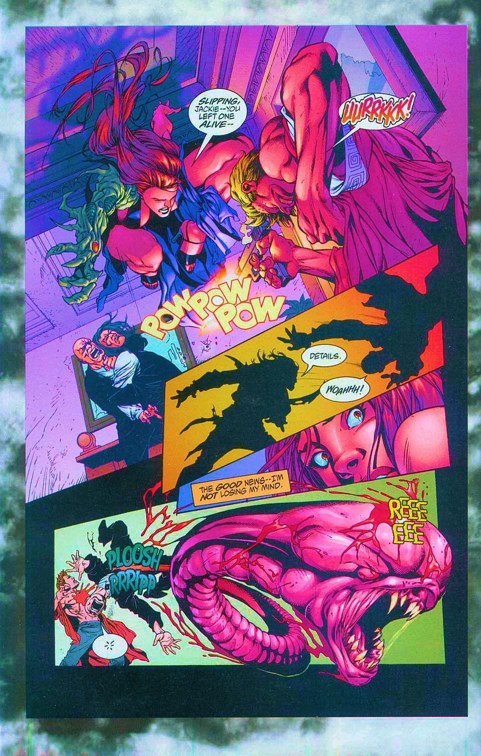 Read online Overkill: Witchblade/Aliens/Darkness/Predator comic -  Issue #1 - 46