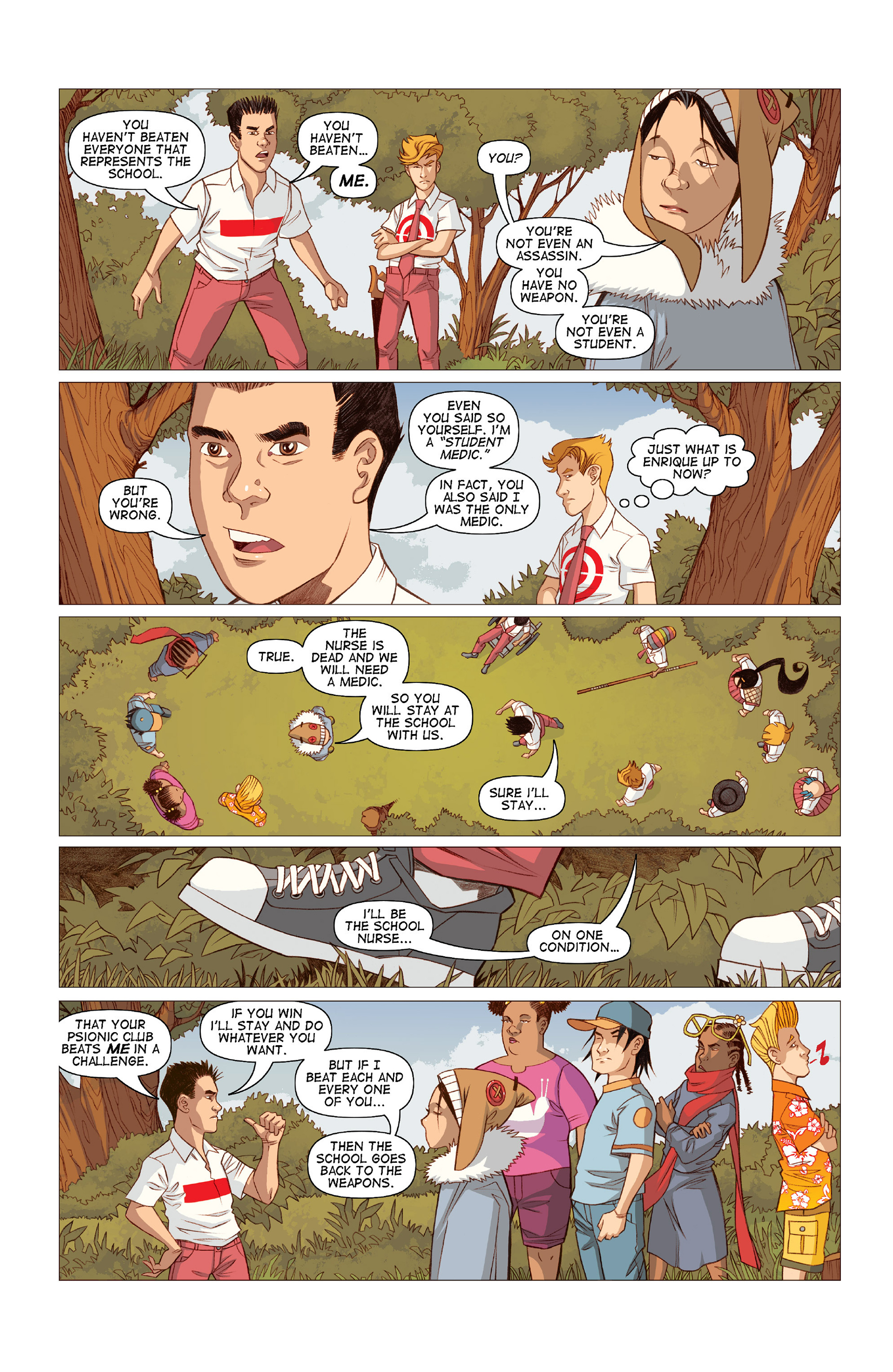 Read online Five Weapons comic -  Issue #10 - 24