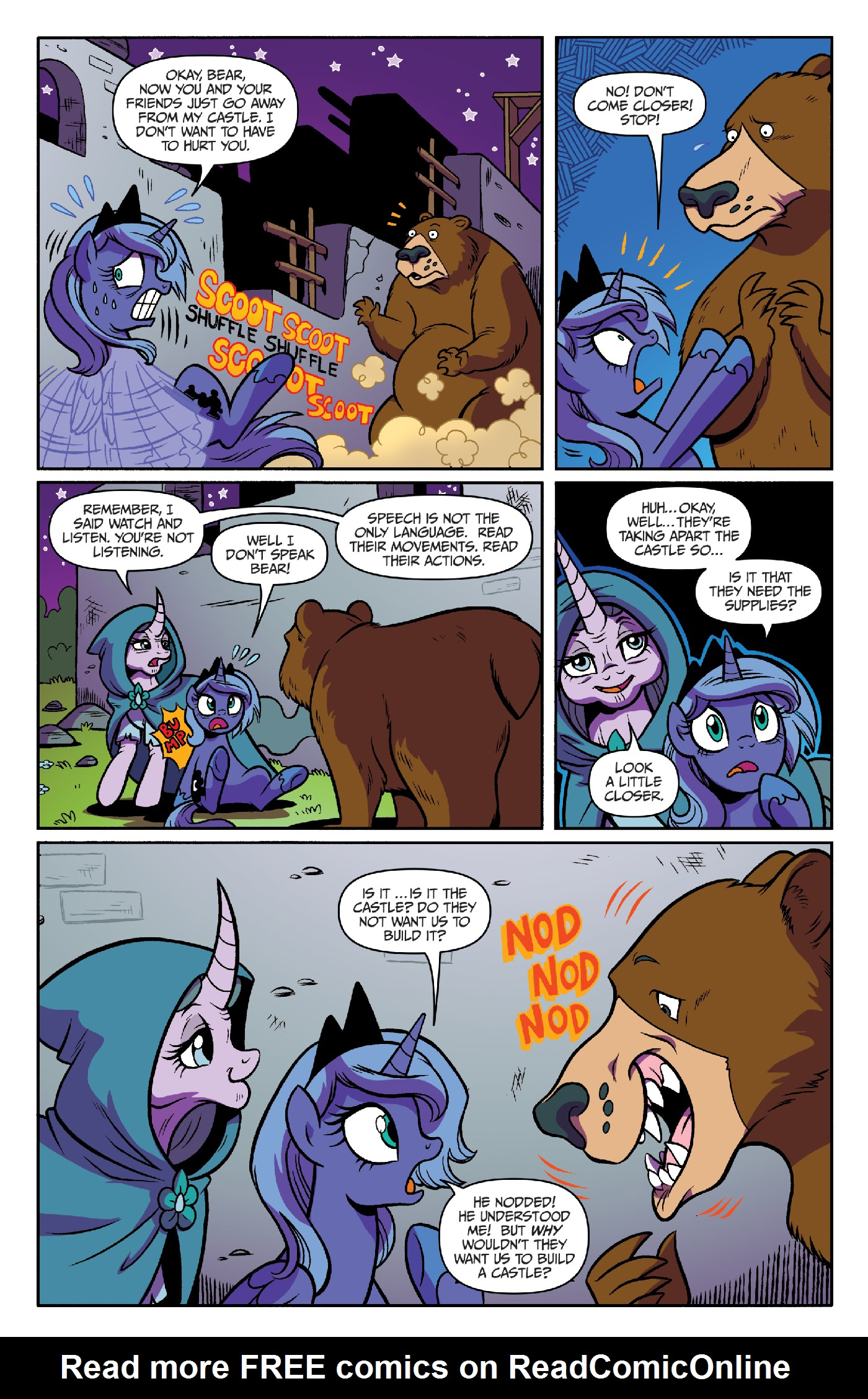 Read online My Little Pony: Legends of Magic comic -  Issue #3 - 15