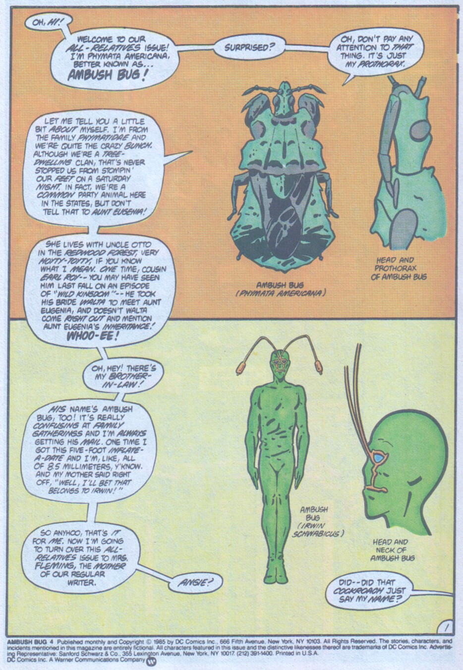 Read online Ambush Bug comic -  Issue #4 - 2