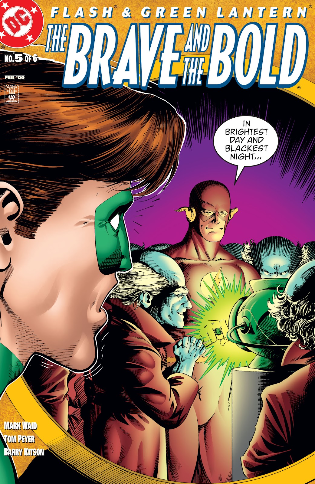 Flash & Green Lantern: The Brave and the Bold issue 5 - Page 1