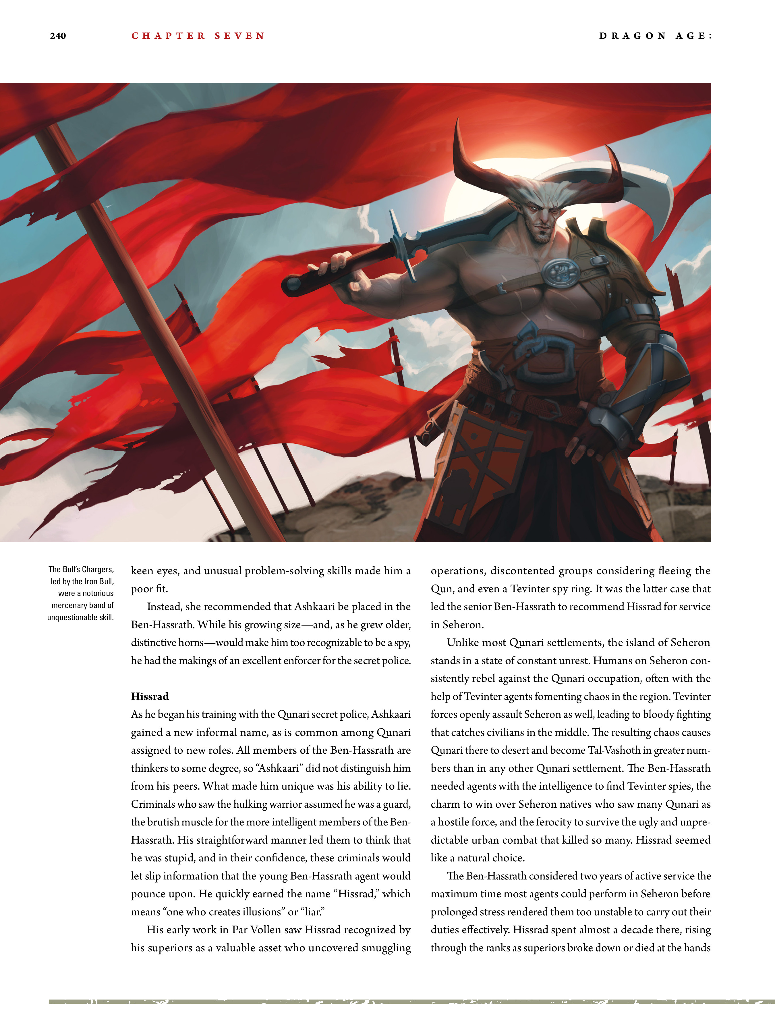 Read online Dragon Age: The World of Thedas comic -  Issue # TPB 2 - 234