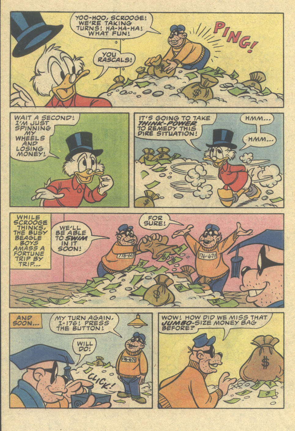 Read online Uncle Scrooge (1953) comic -  Issue #206 - 32