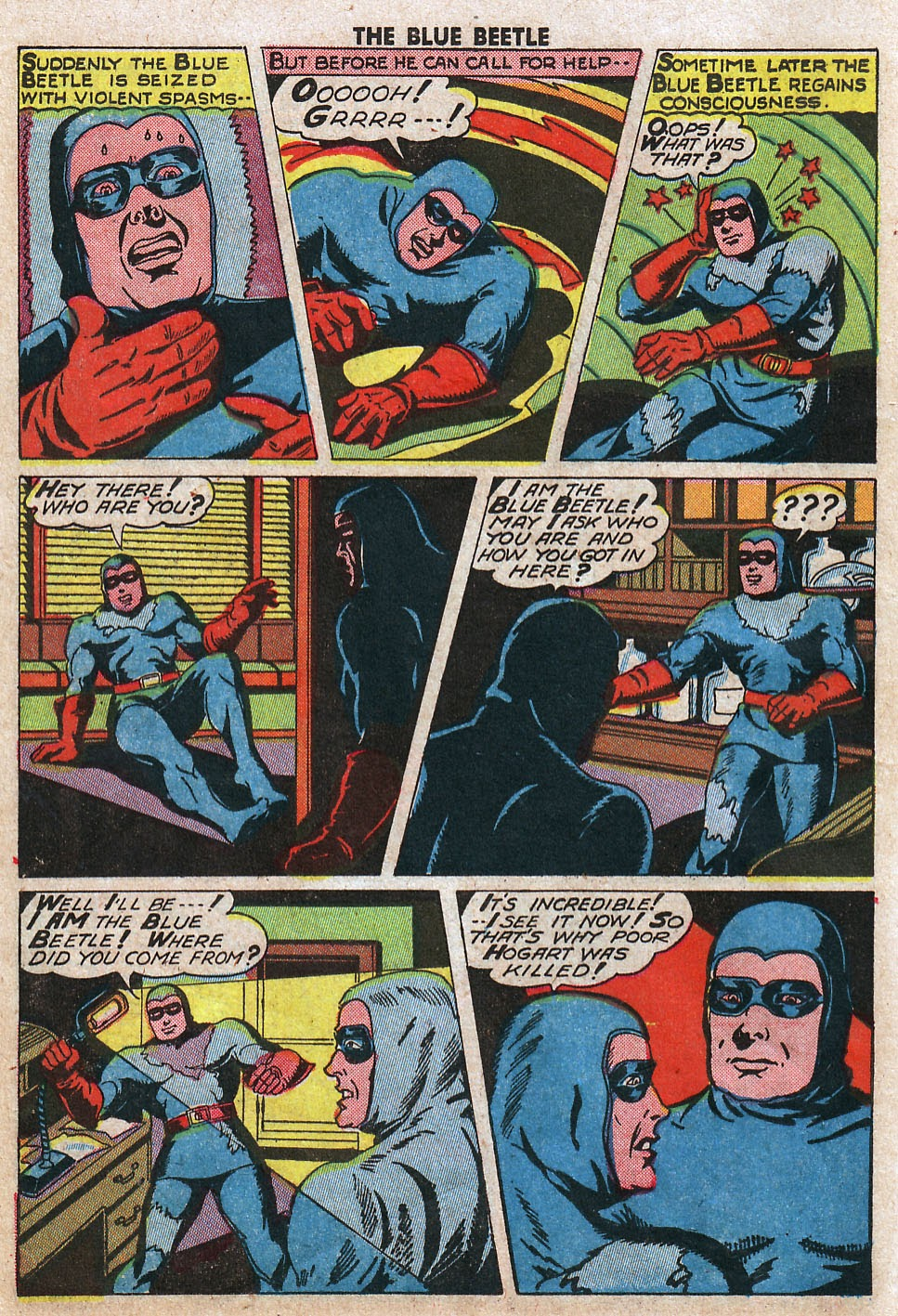 The Blue Beetle issue 33 - Page 18