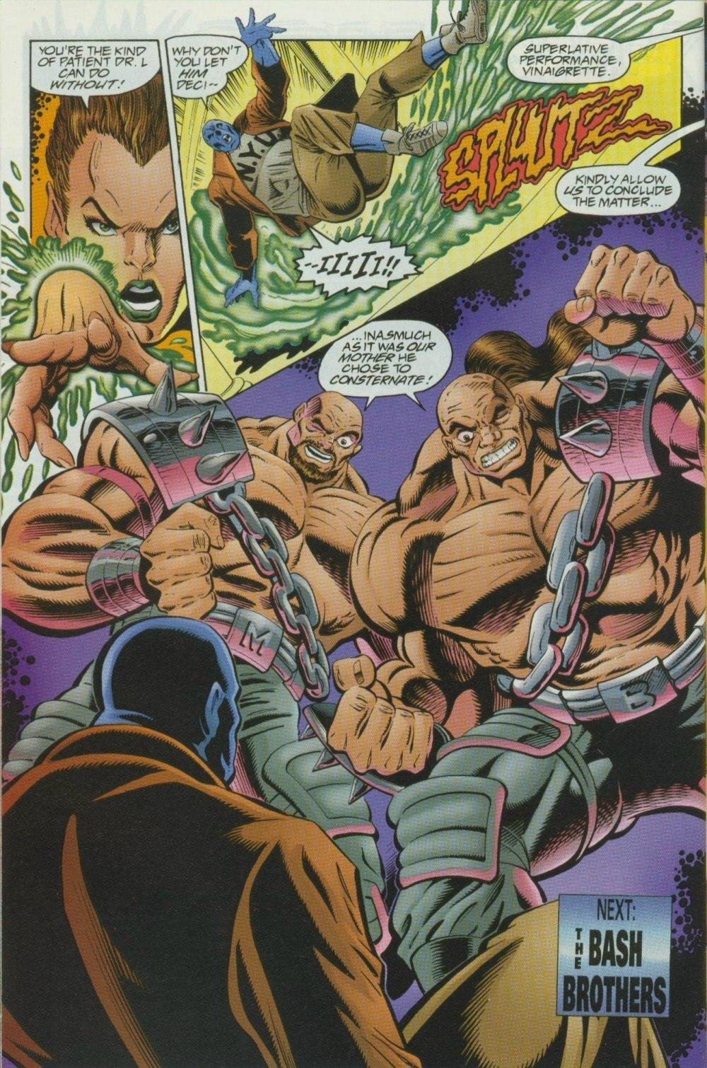 Read online Sludge comic -  Issue #10 - 27