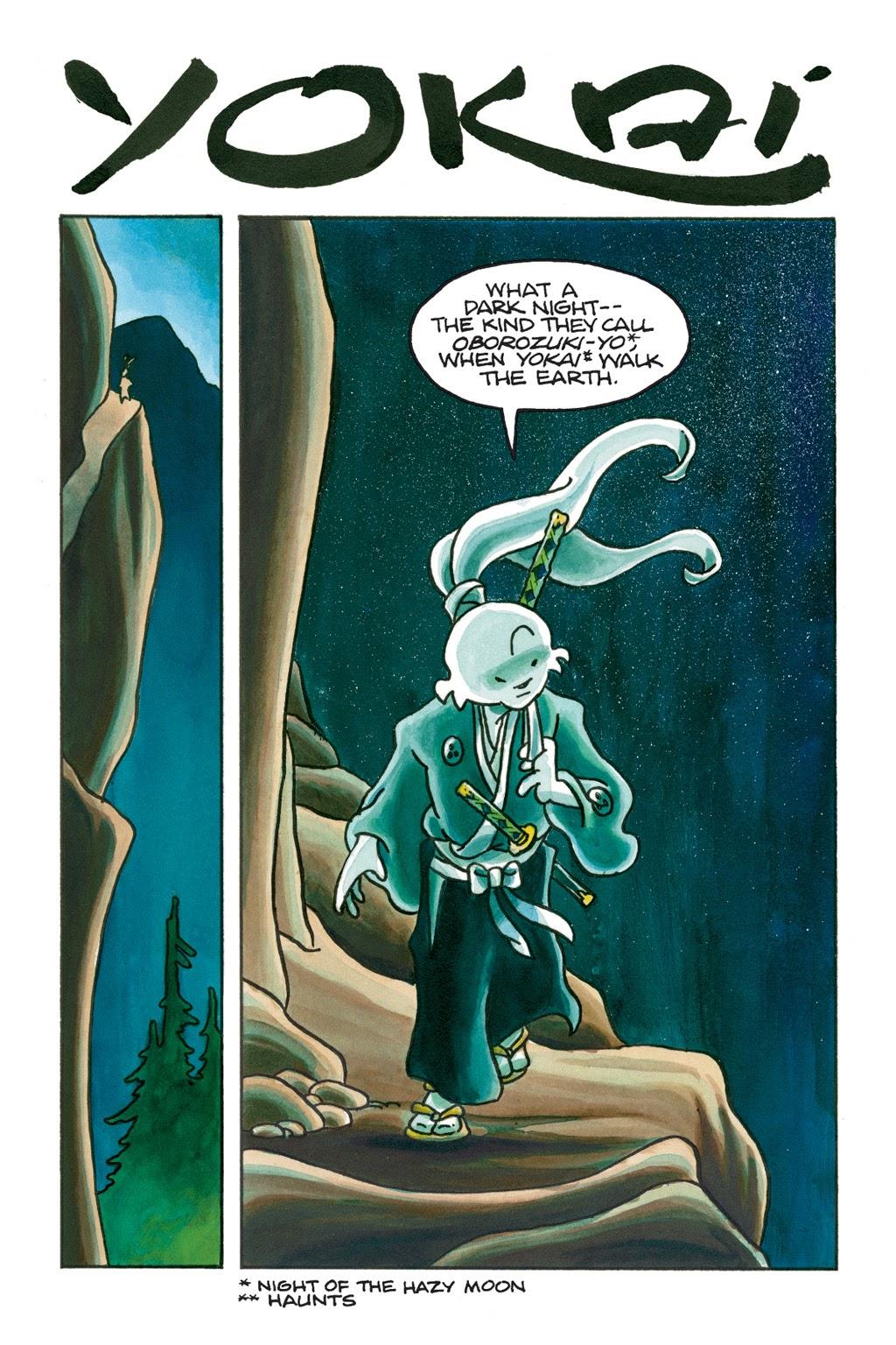 Read online Usagi Yojimbo: Yokai comic -  Issue # Full - 4