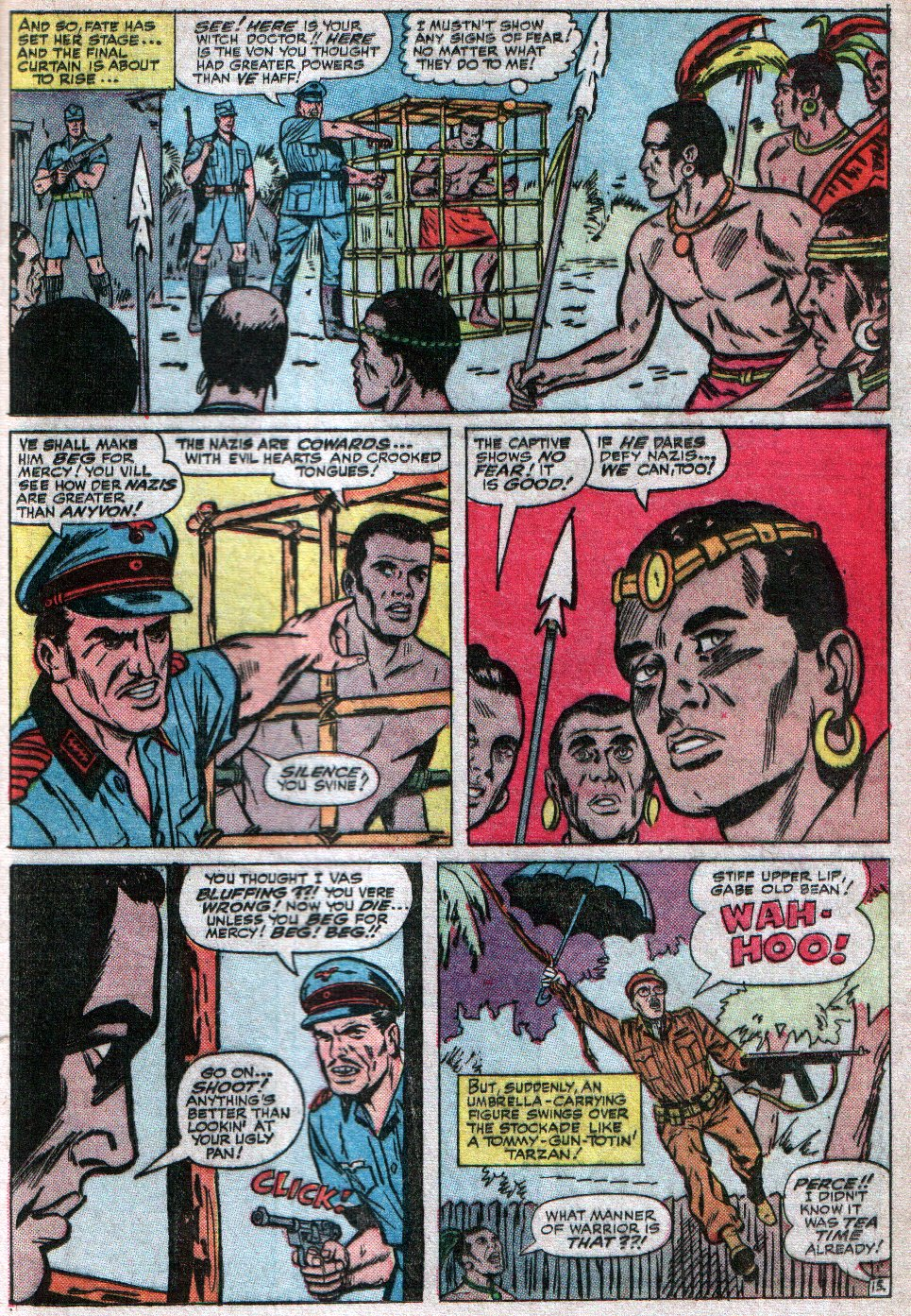 Read online Sgt. Fury comic -  Issue #17 - 21