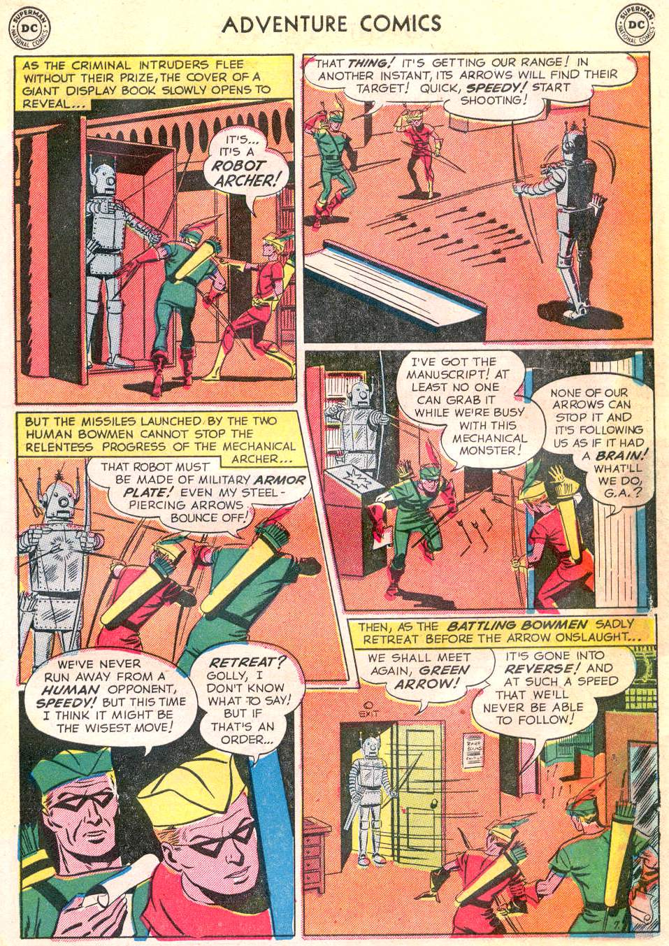Read online Adventure Comics (1938) comic -  Issue #166 - 37