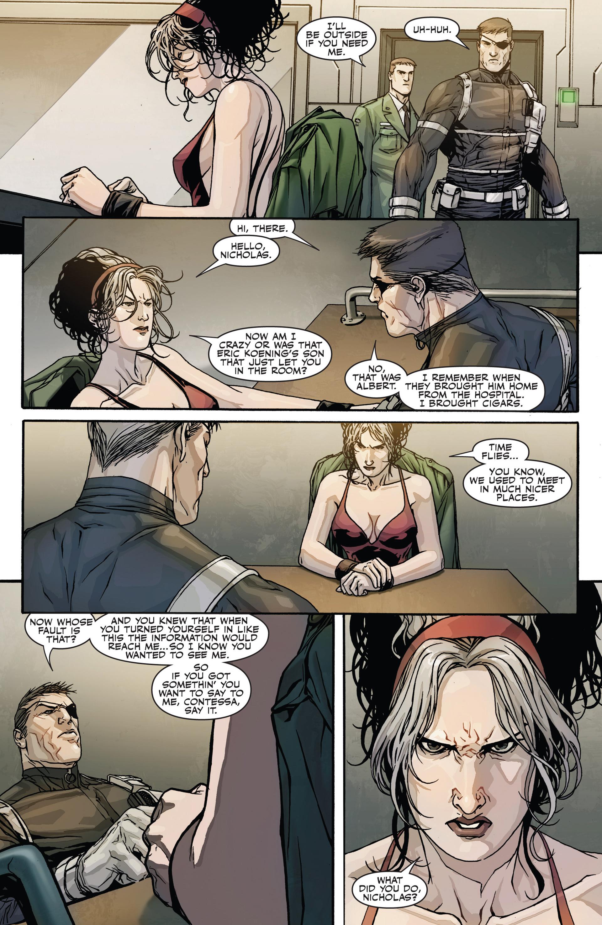 Read online Secret Warriors comic -  Issue #28 - 5
