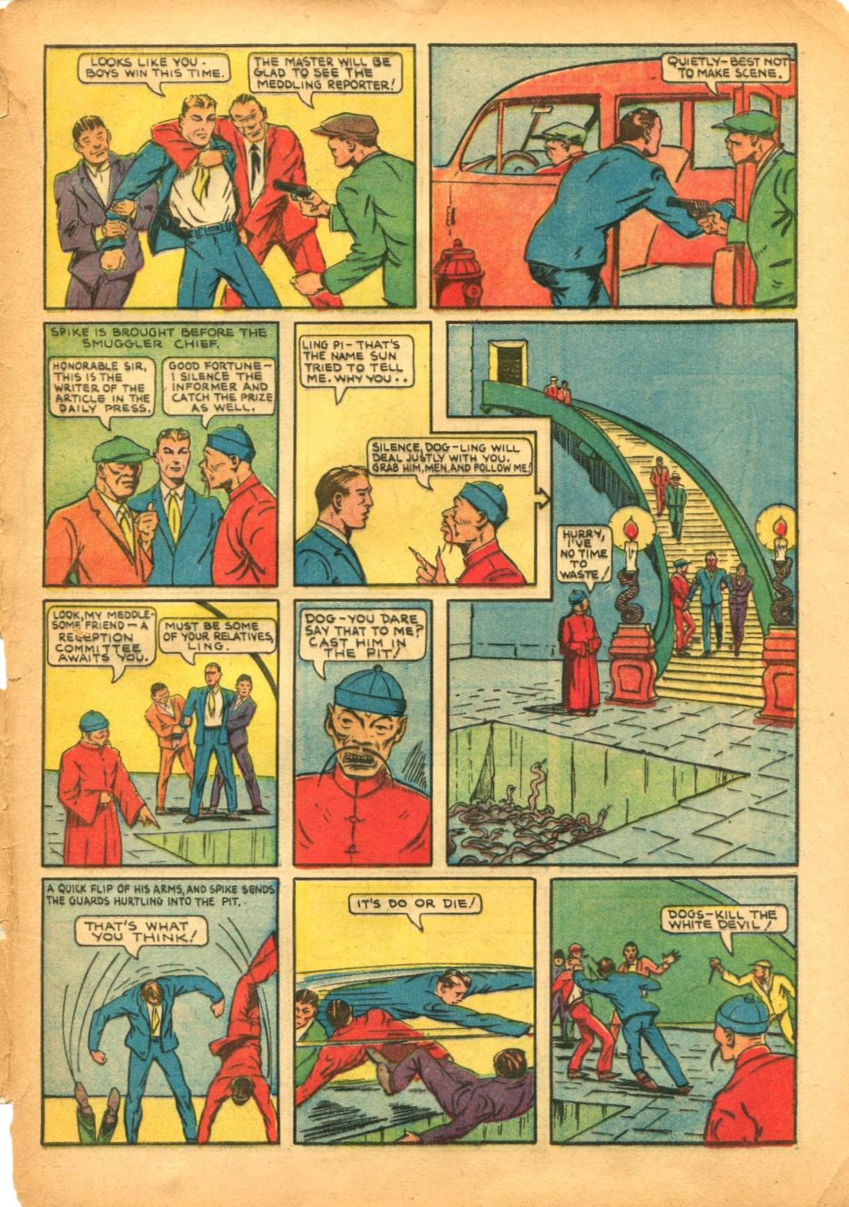 Read online Shadow Comics comic -  Issue #12 - 63
