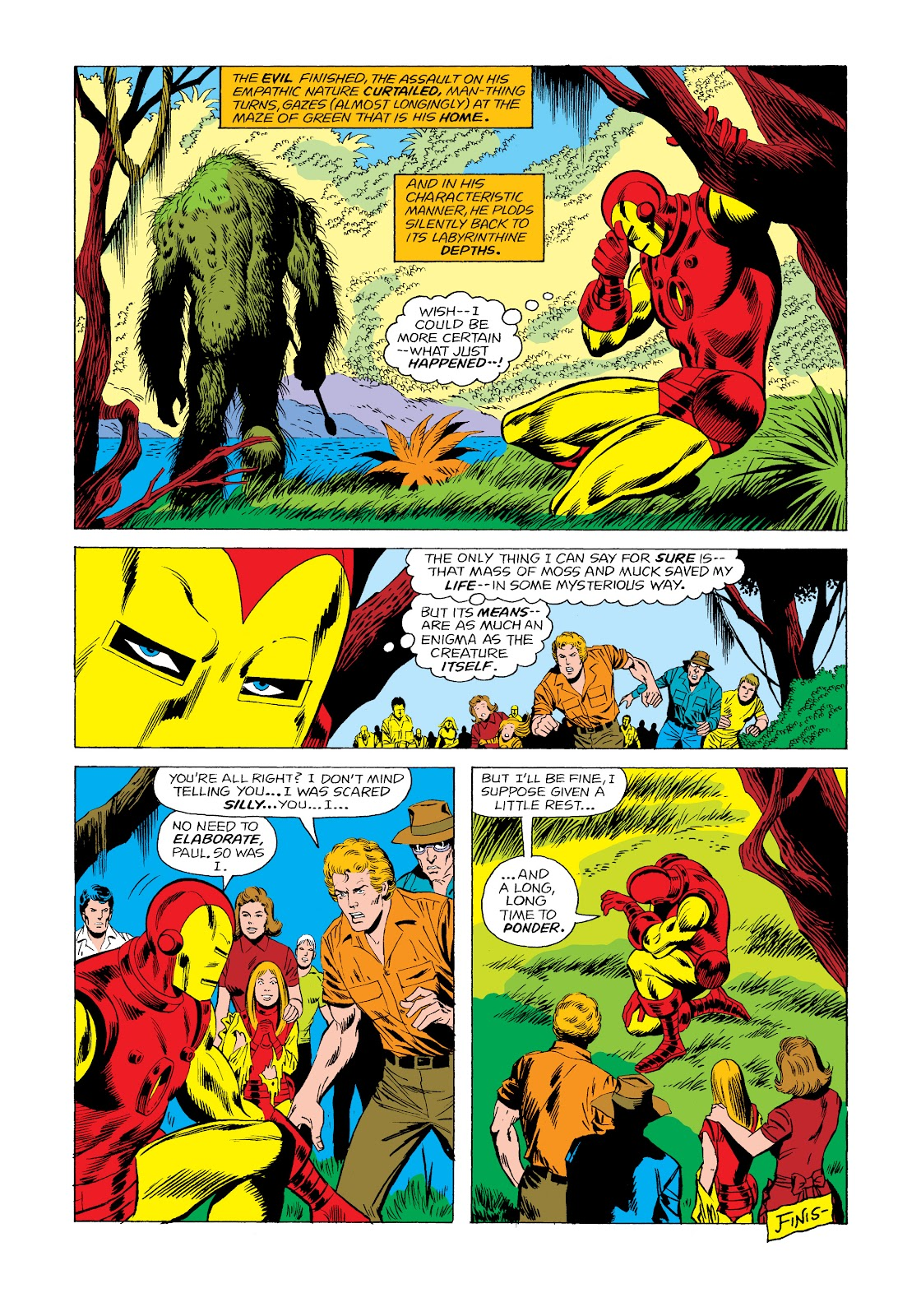 Read online Marvel Masterworks: The Invincible Iron Man comic -  Issue # TPB 11 (Part 2) - 56