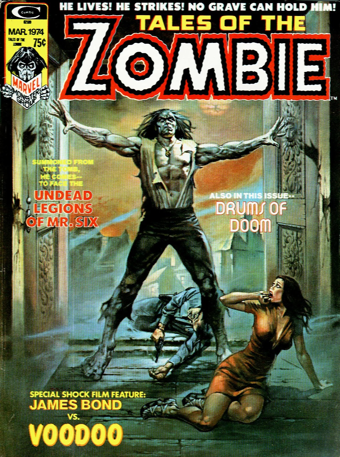 Zombie (1973) issue 4 - Page 1