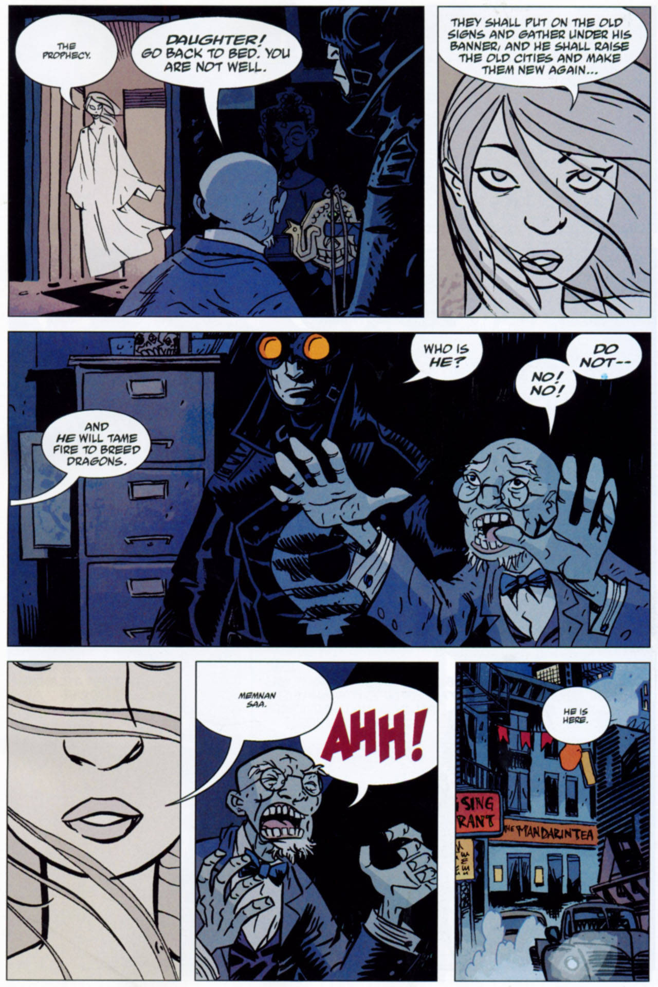 Read online Lobster Johnson: The Iron Prometheus comic -  Issue #1 - 21