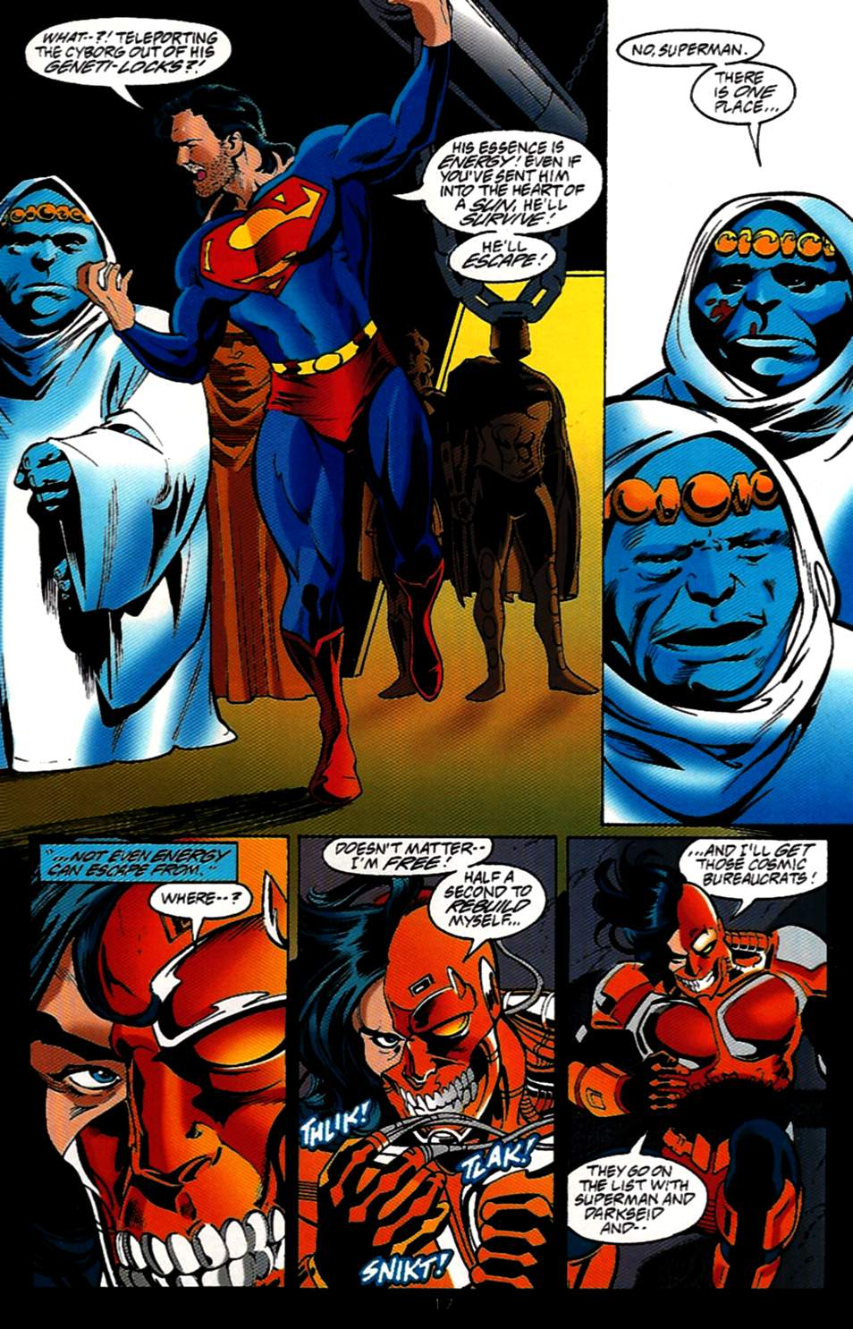 Read online Adventures of Superman (1987) comic -  Issue #531 - 18