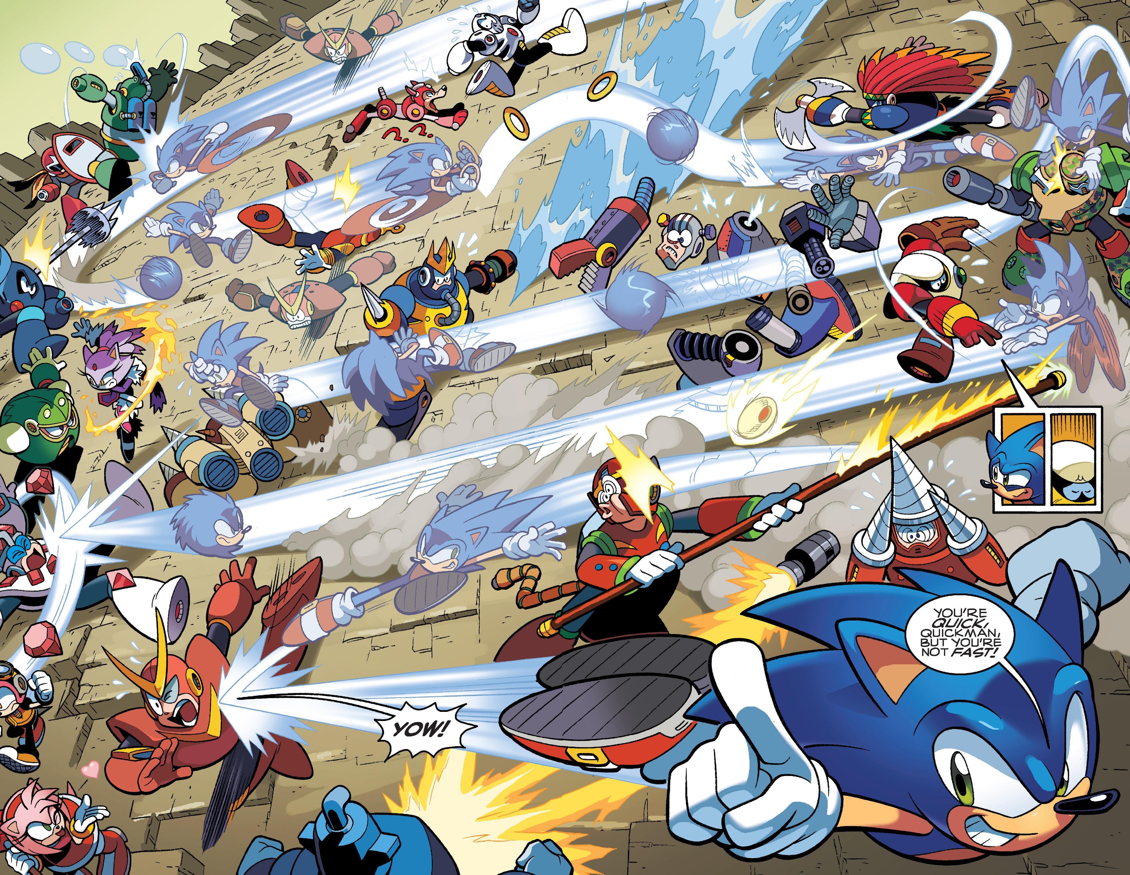 Read online Sonic Mega Man Worlds Collide comic -  Issue # Vol 3 - 25