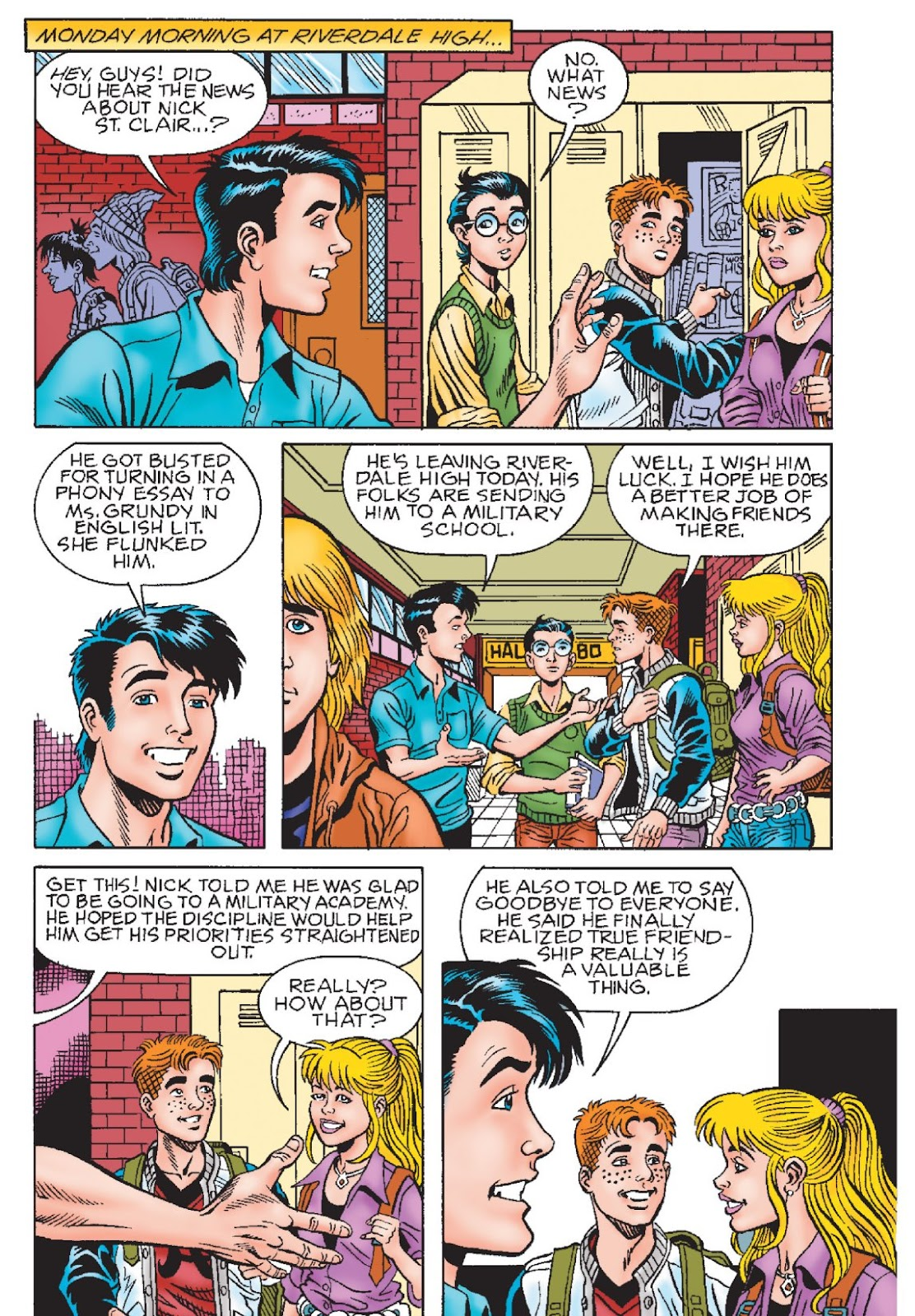 Read online Archie's New Look Series comic -  Issue #1 - 111