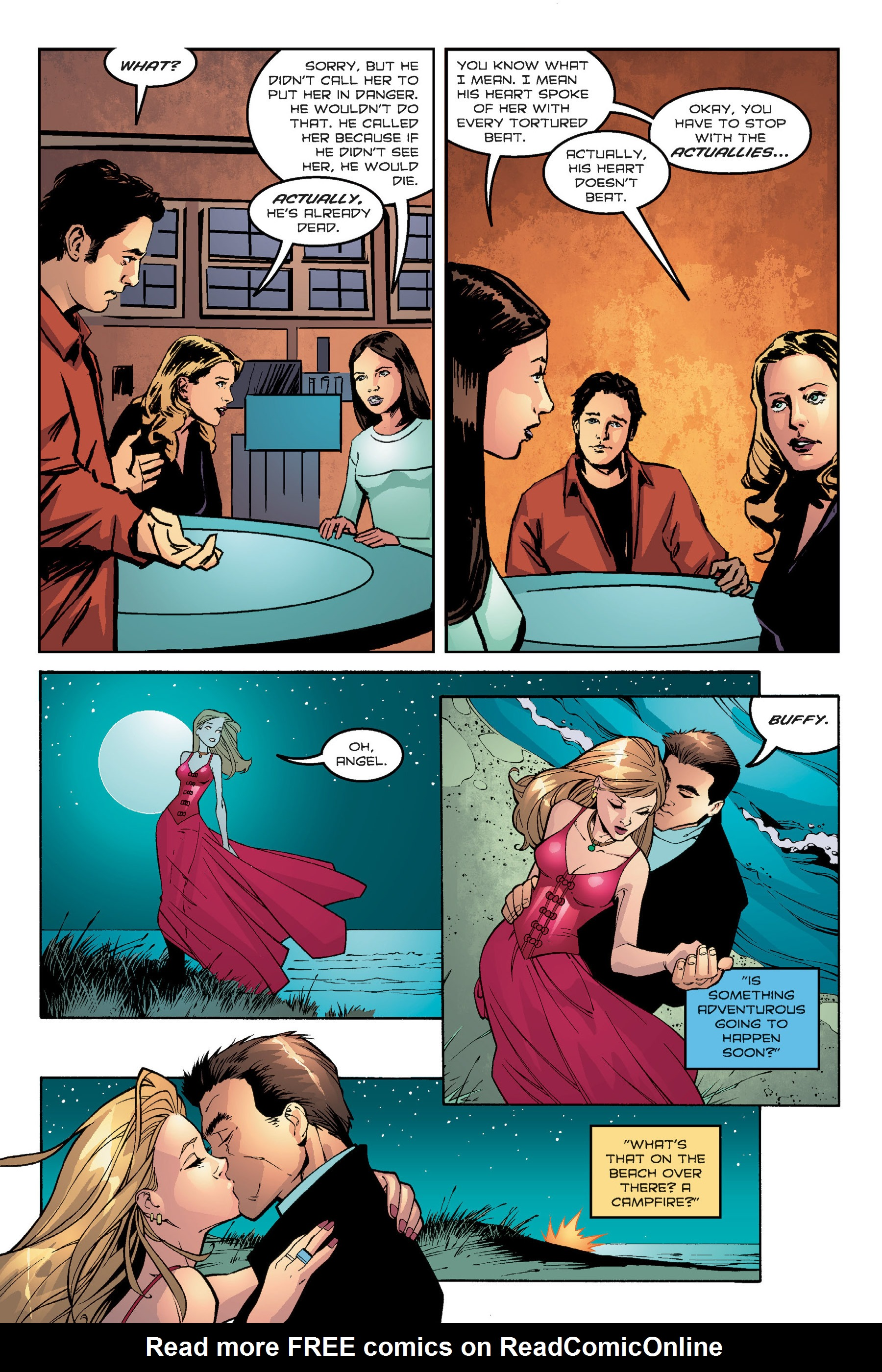 Read online Buffy the Vampire Slayer: Omnibus comic -  Issue # TPB 7 - 269