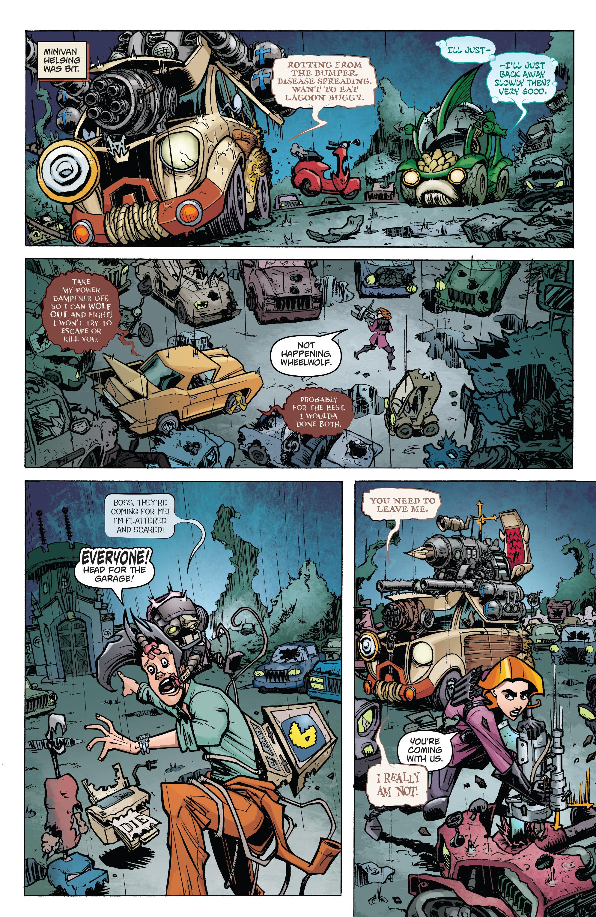 Read online Monster Motors: The Curse of Minivan Helsing comic -  Issue #2 - 4