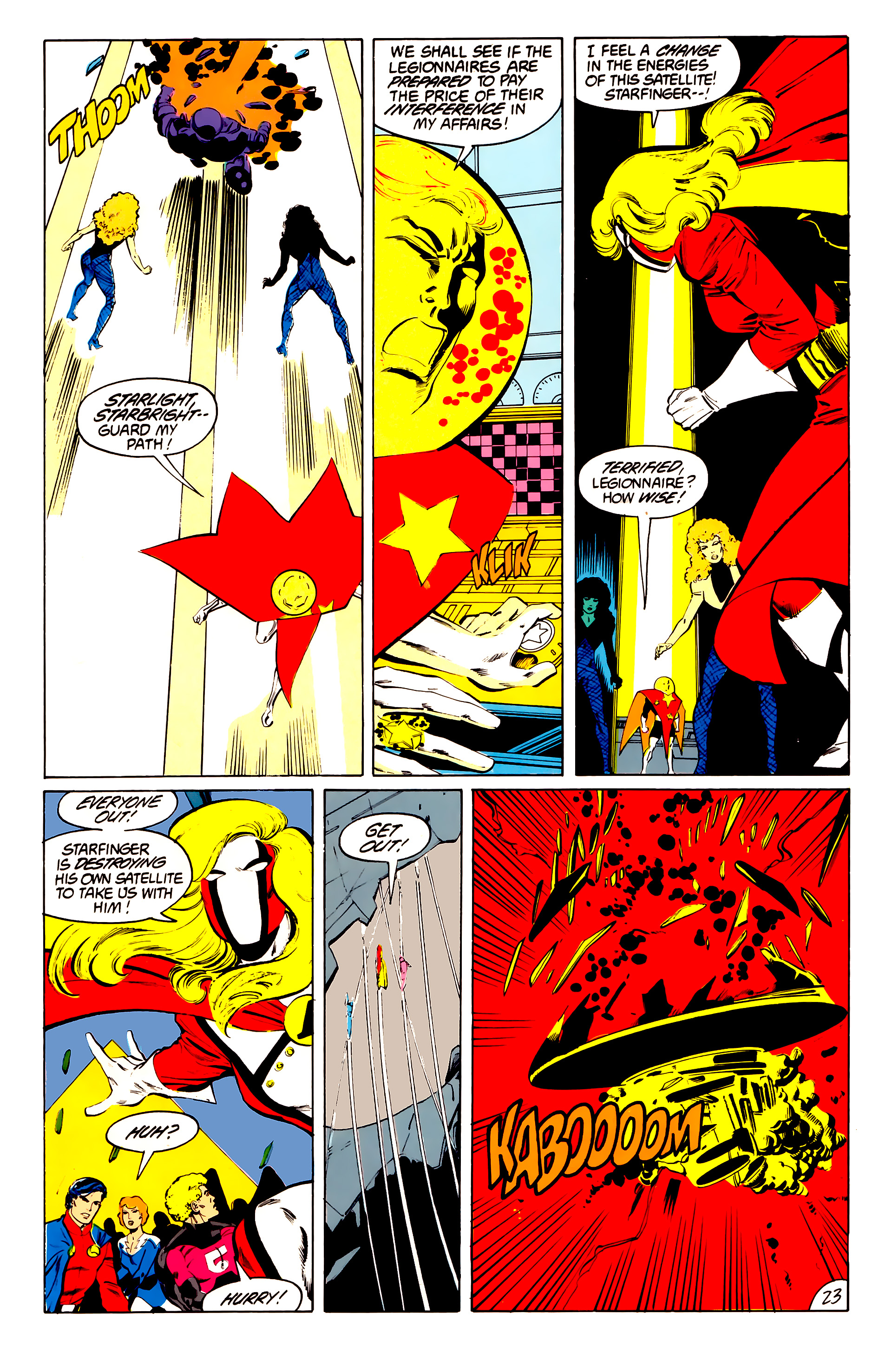 Legion of Super-Heroes (1984) 41 Page 23