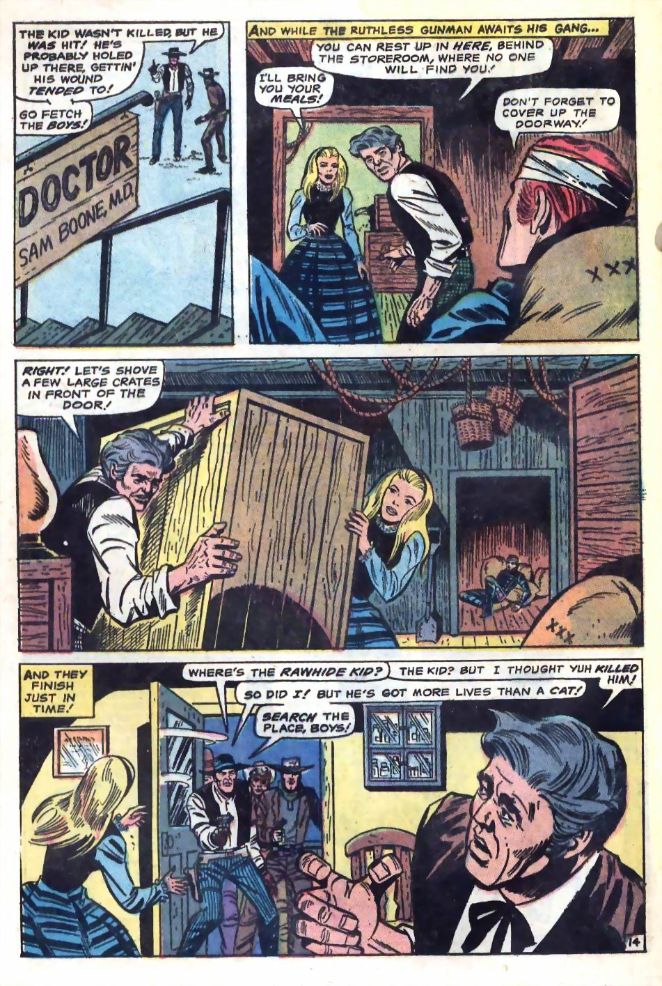 The Rawhide Kid (1955) issue 75 - Page 20